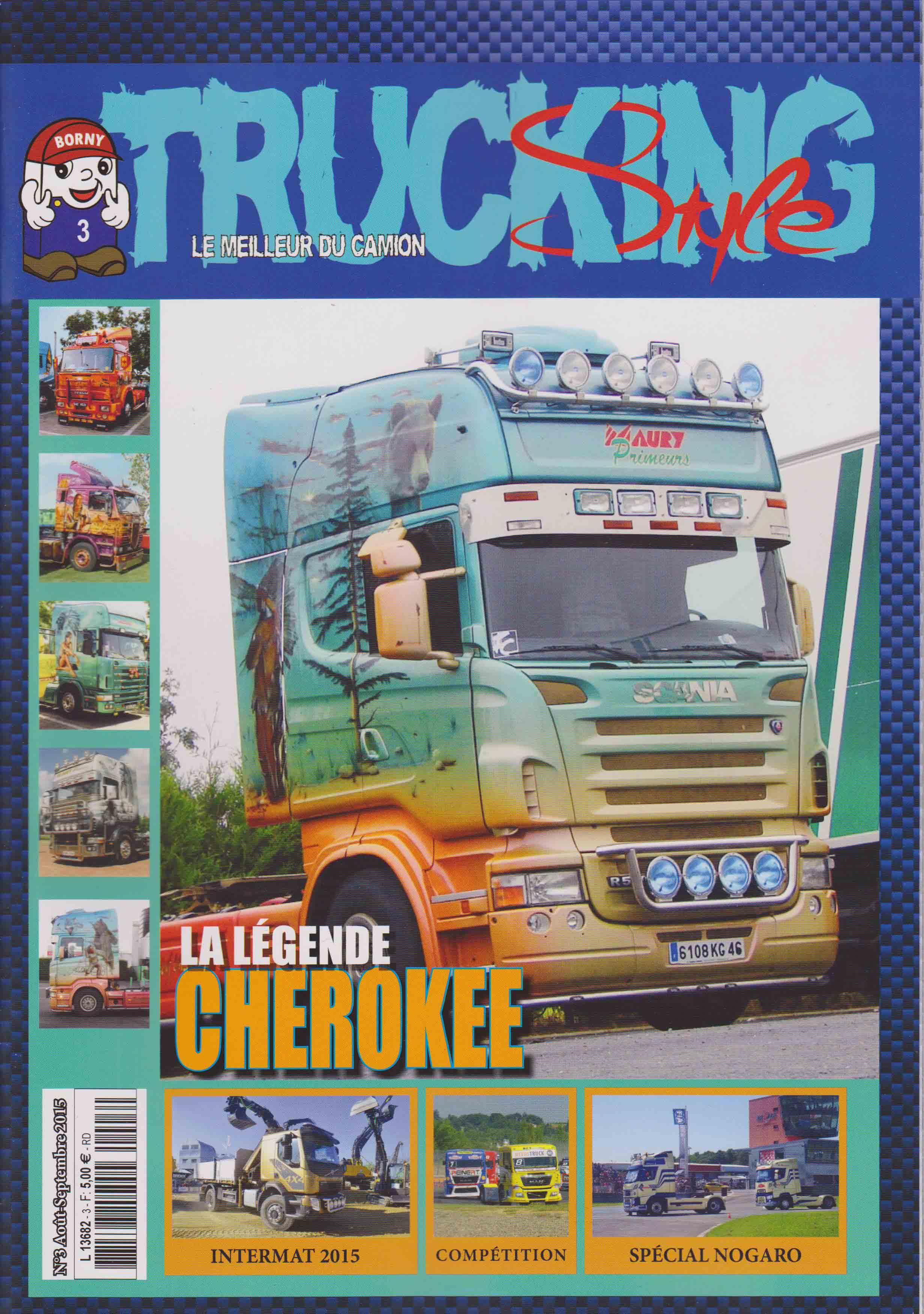 Numéro 3 de Trucking Style - Août Septembre 2015