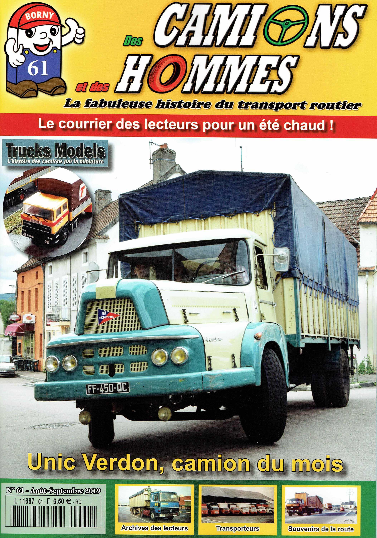 Magazine N°61 Des Camions et des Hommes (Etranger)