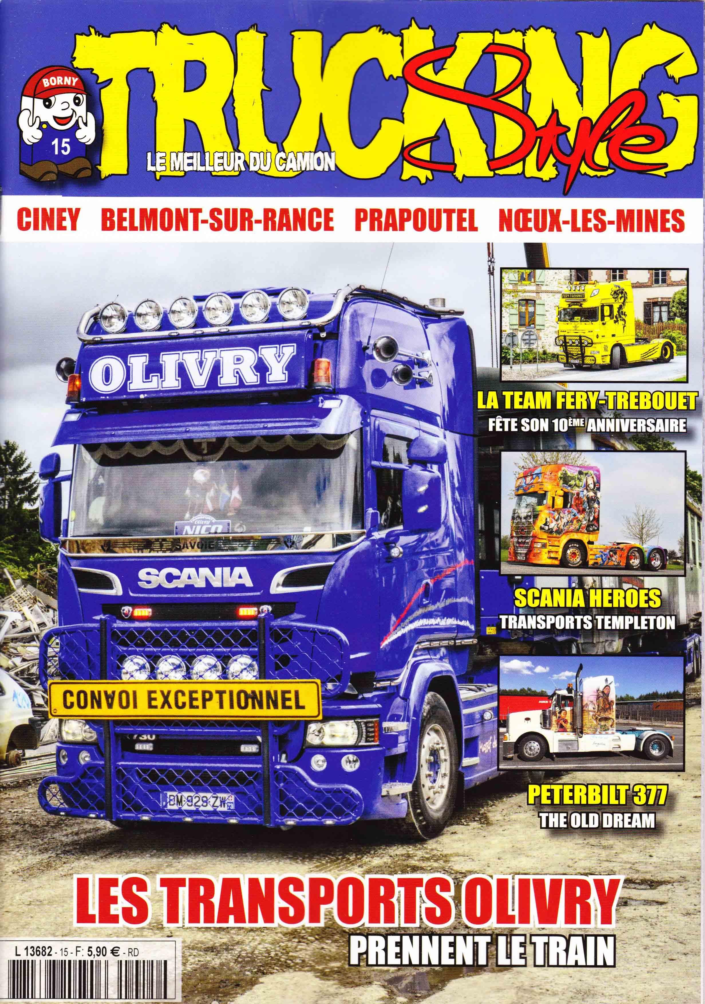 Numéro 15 de Trucking Style - Aout - Septembre 2017