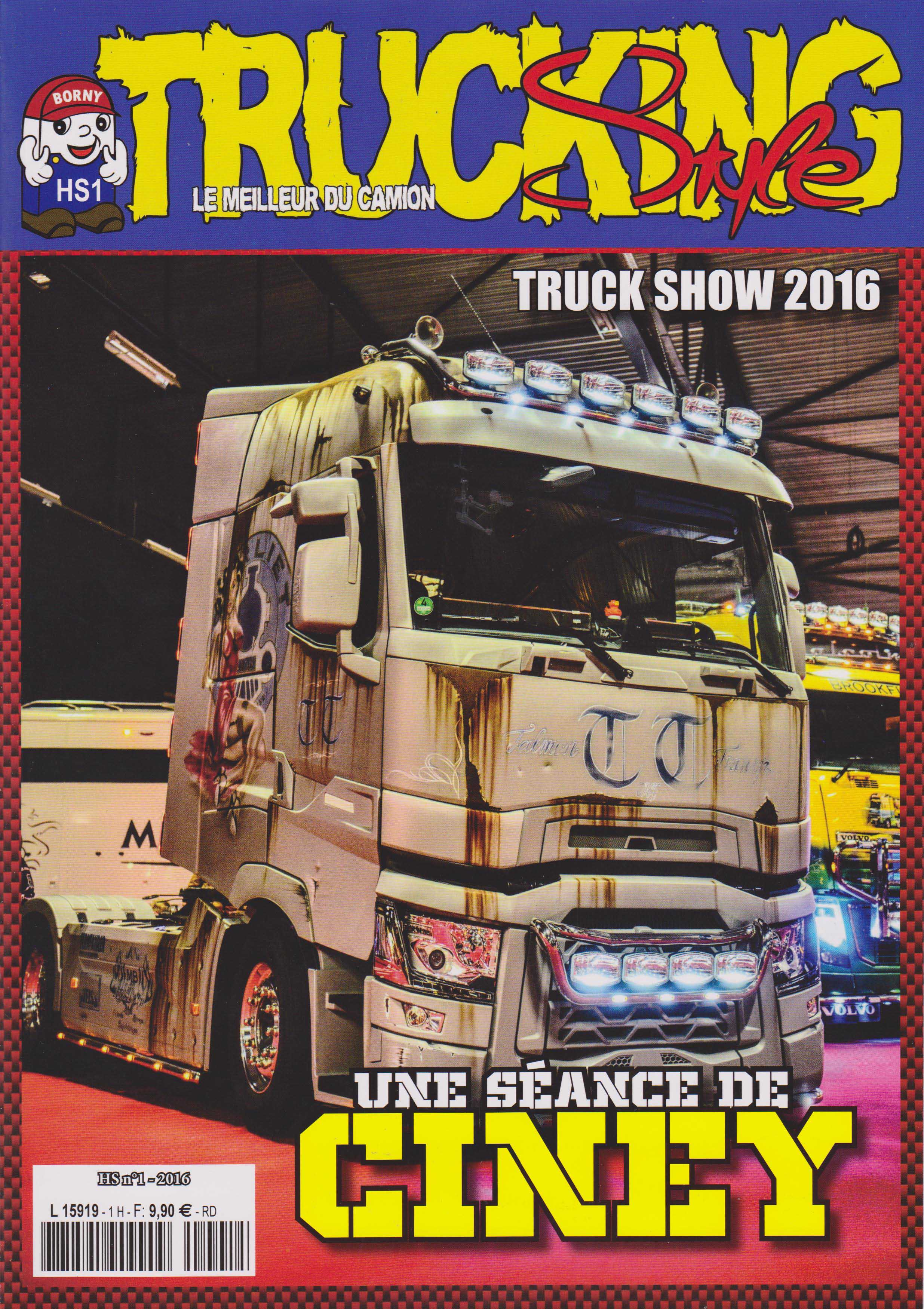 Hors Série n°1 de Trucking Style (2016)
