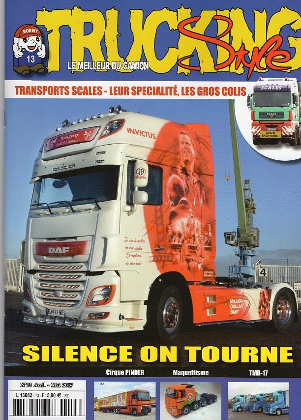 Numéro 13 de Trucking Style - Avril - Mai 2017