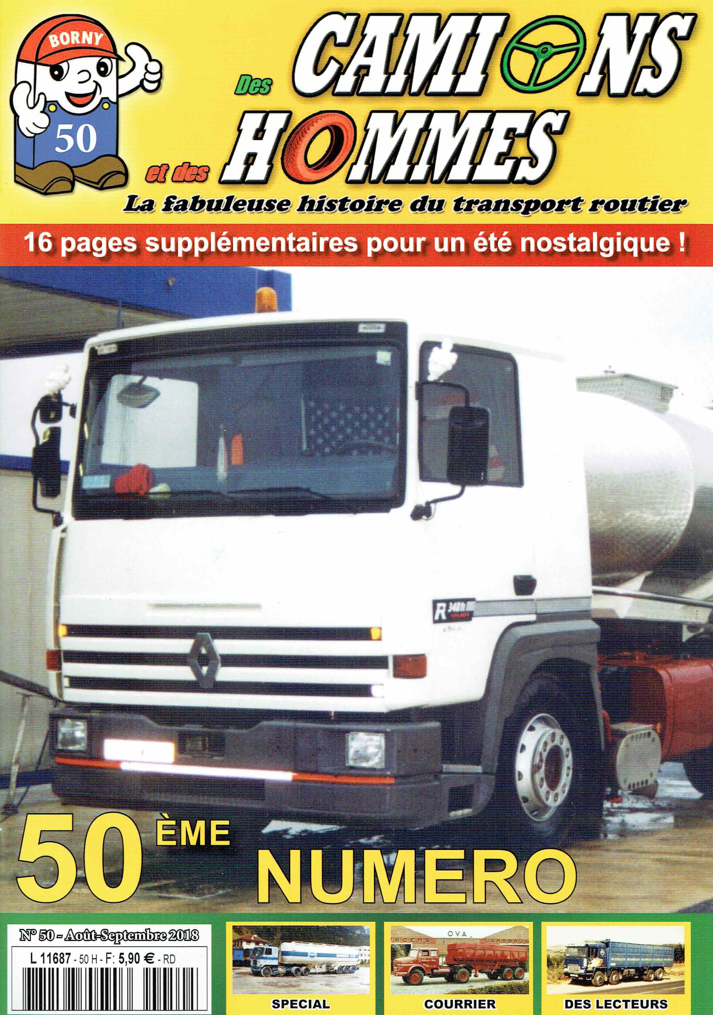 Magazine N°50 Des Camions et des Hommes (Etranger)