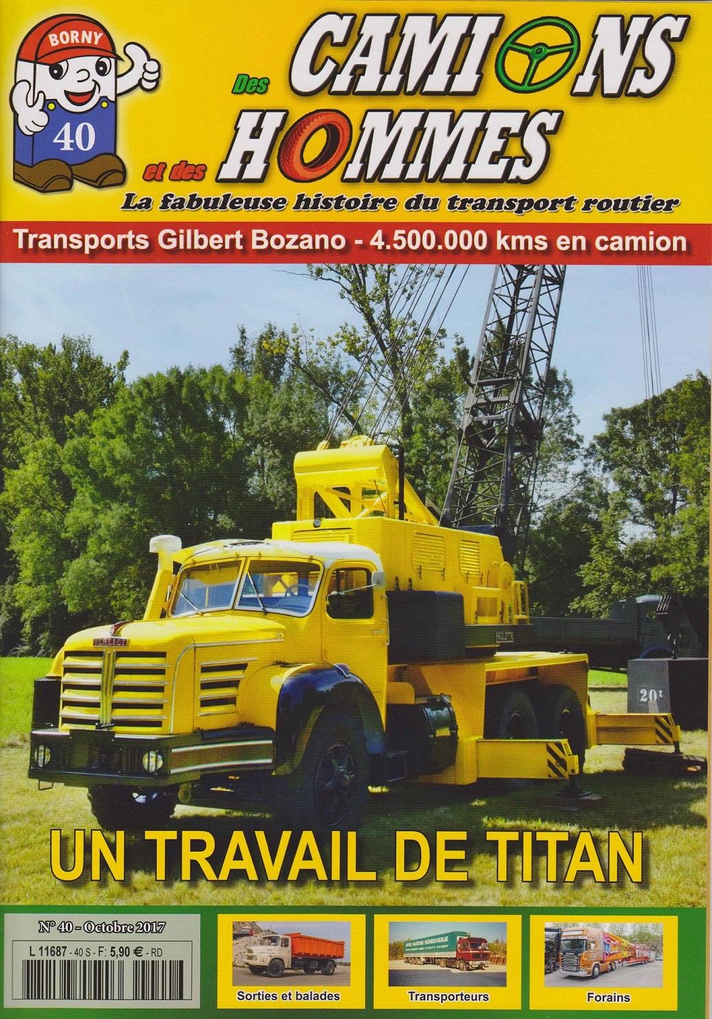 Magazine N°40 Des Camions et des Hommes (Etranger)