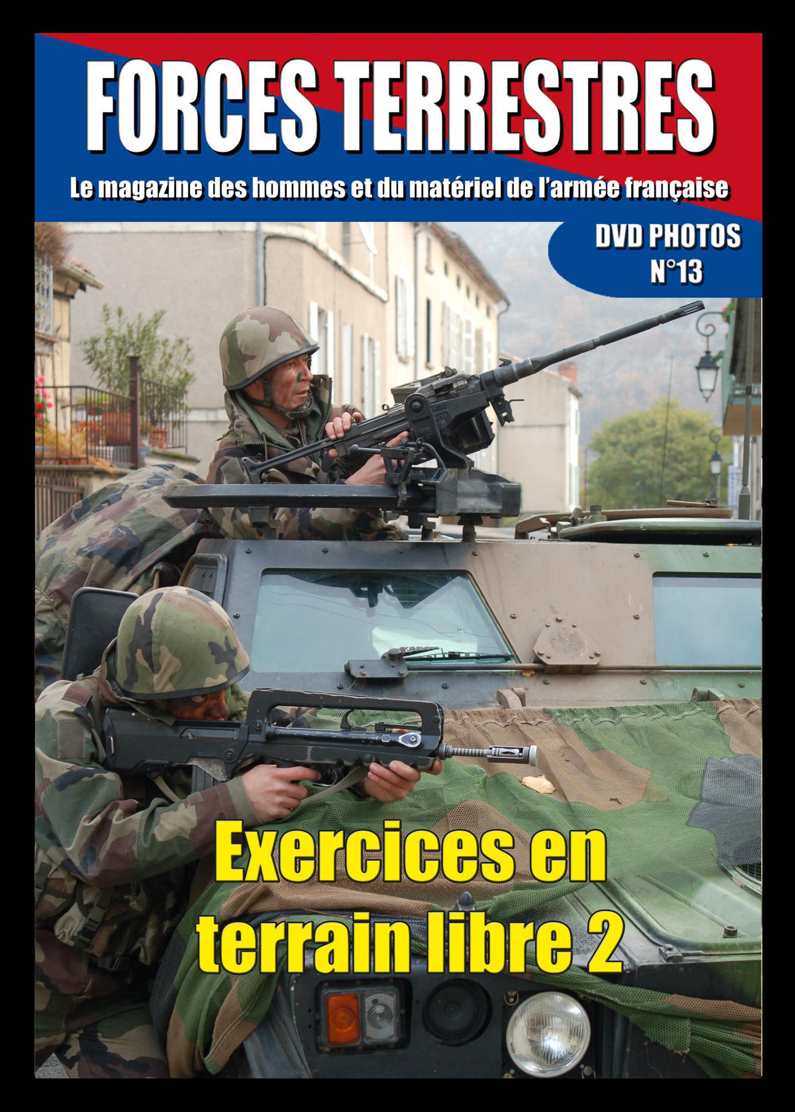 DVD  N°13 Exercices en terrain libre 2