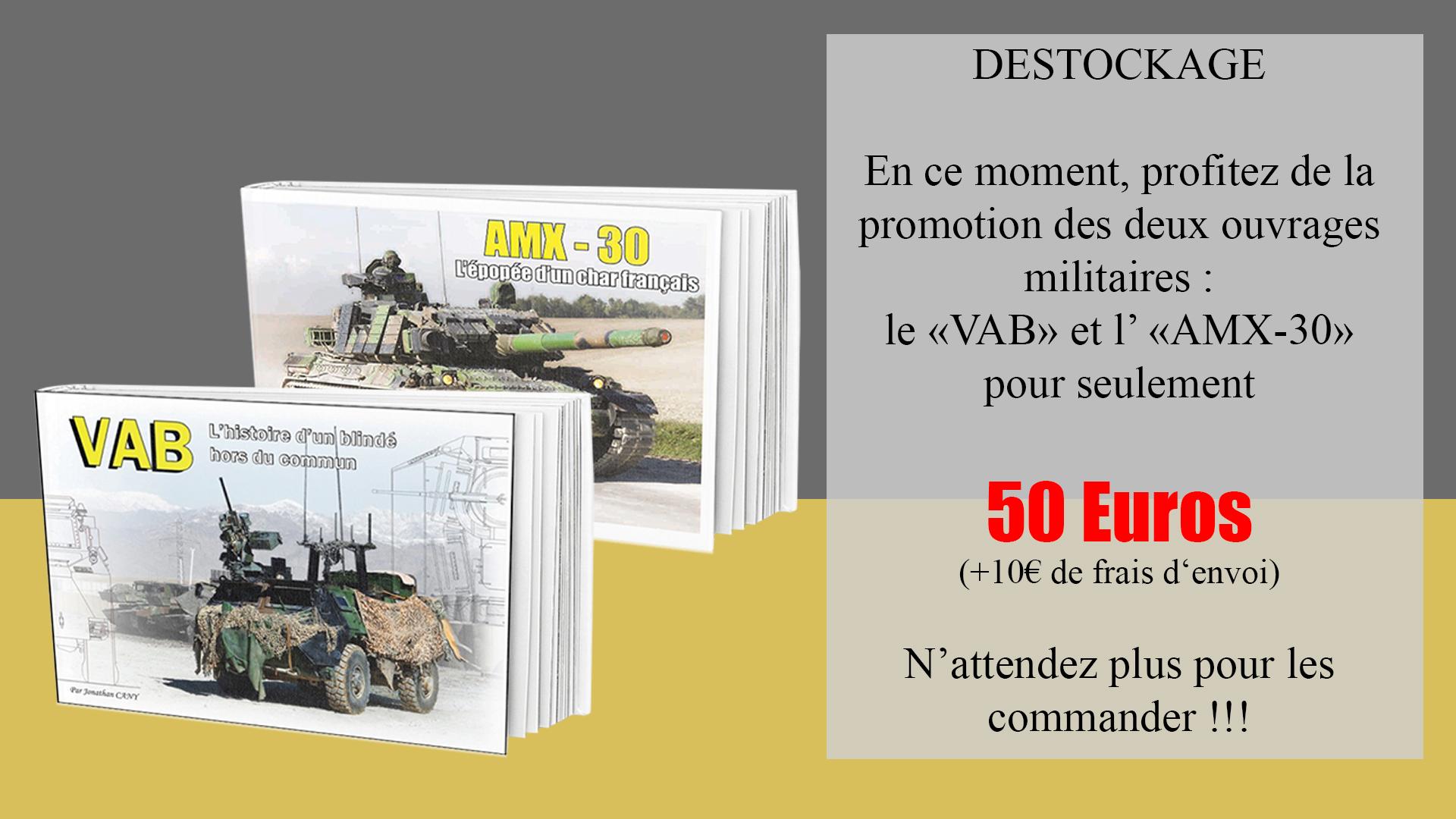Promotion militaire : VAB/AMX-30
