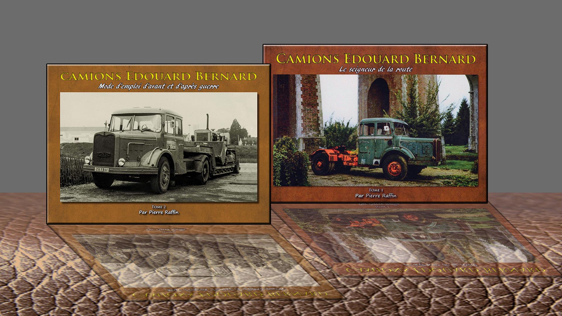 Promo Livre Camions Edouard BERNARD Tome 1 et Tome 2