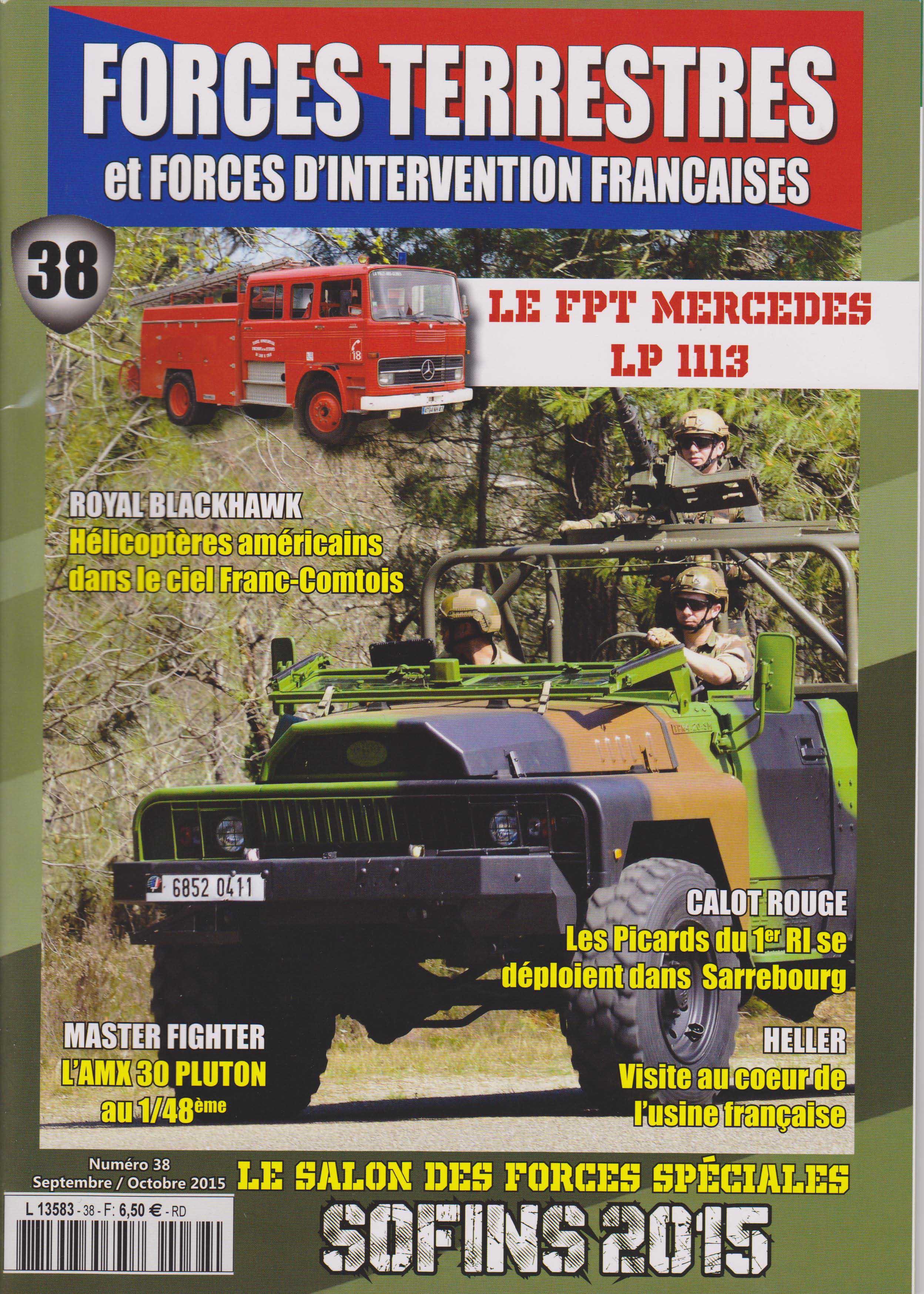 Forces Terrestres N°38 (Etranger)