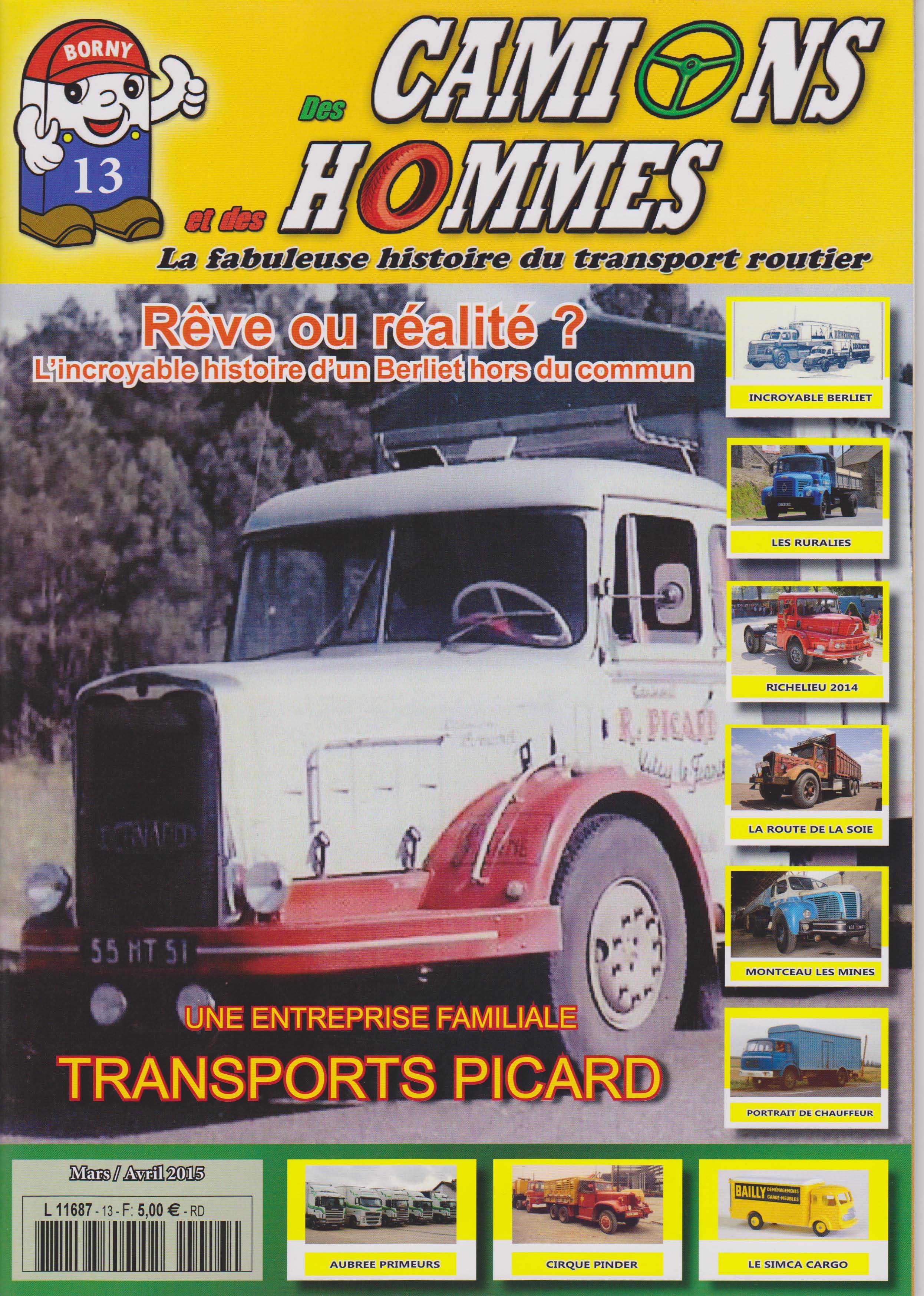Magazine N°13 Des Camions et des Hommes (Etranger)