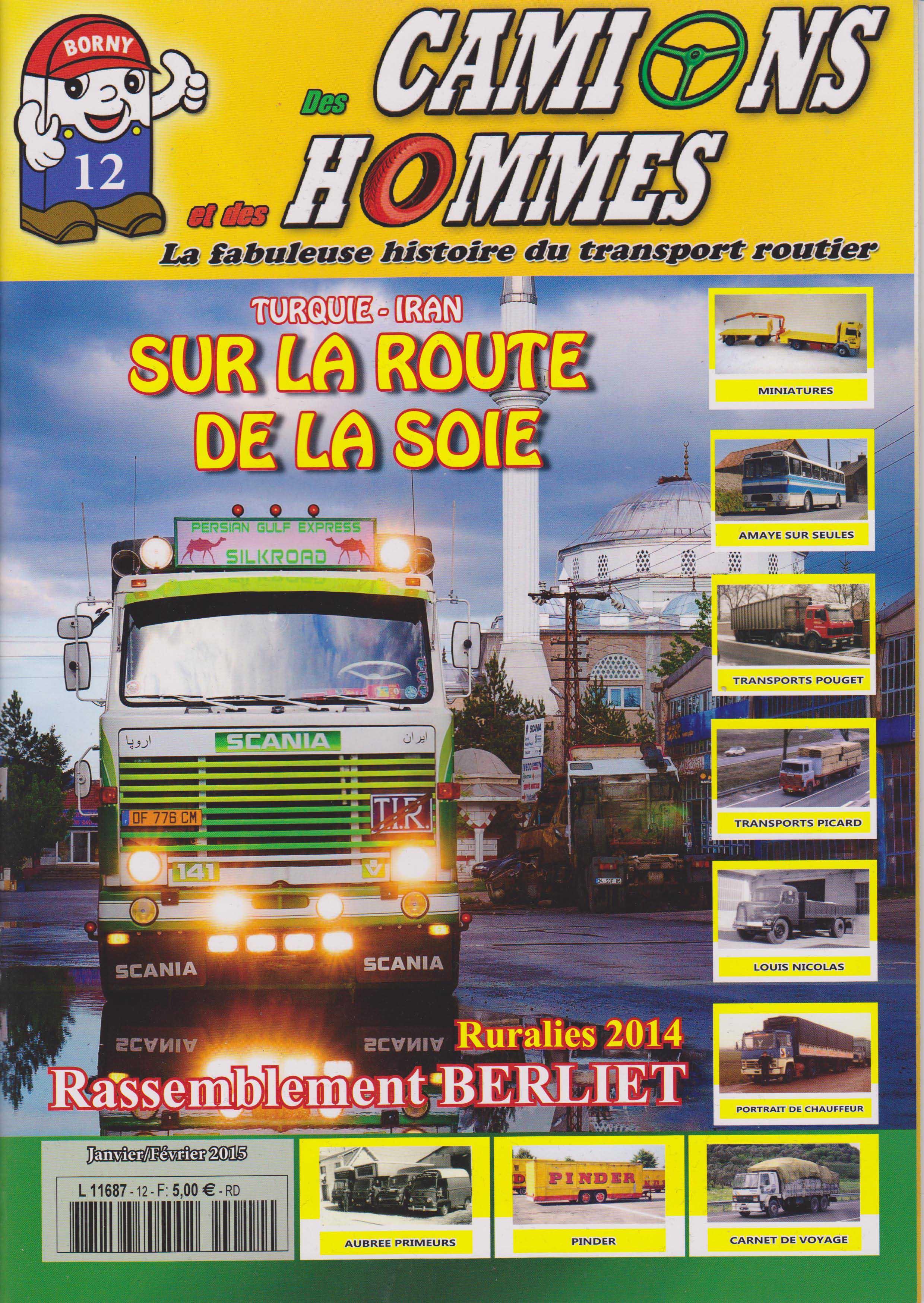 Magazine N°12 Des Camions et des Hommes (Etranger)