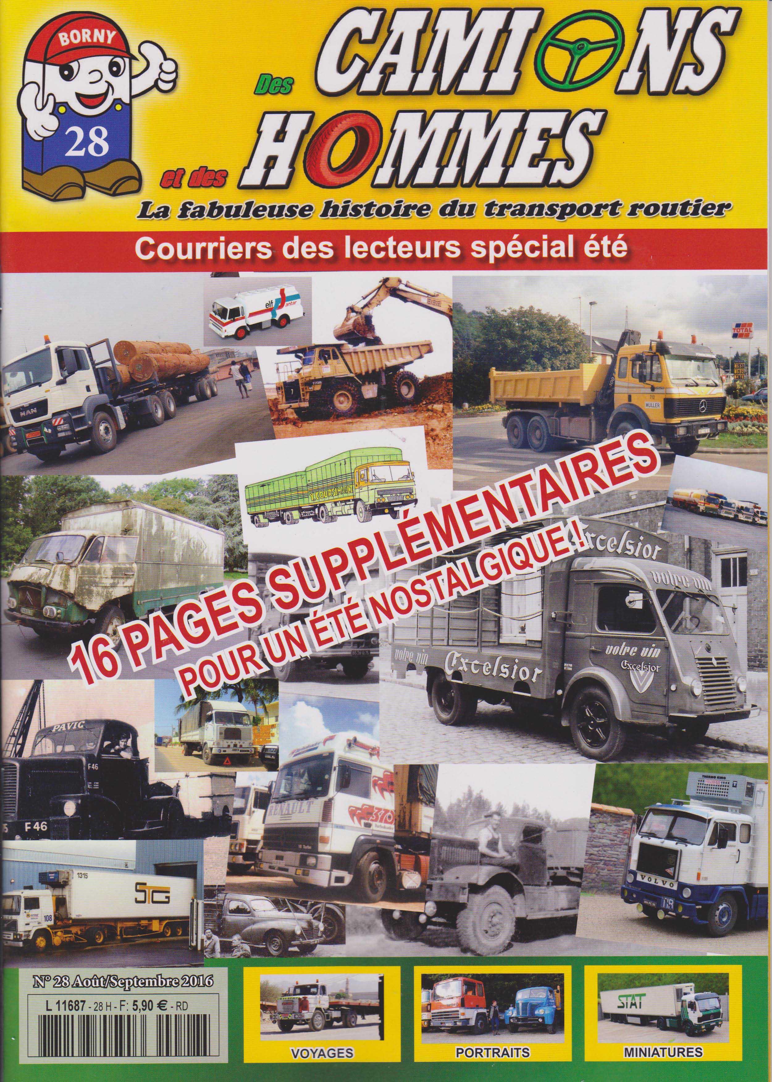 Magazine N°28 Des Camions et des Hommes (Etranger)