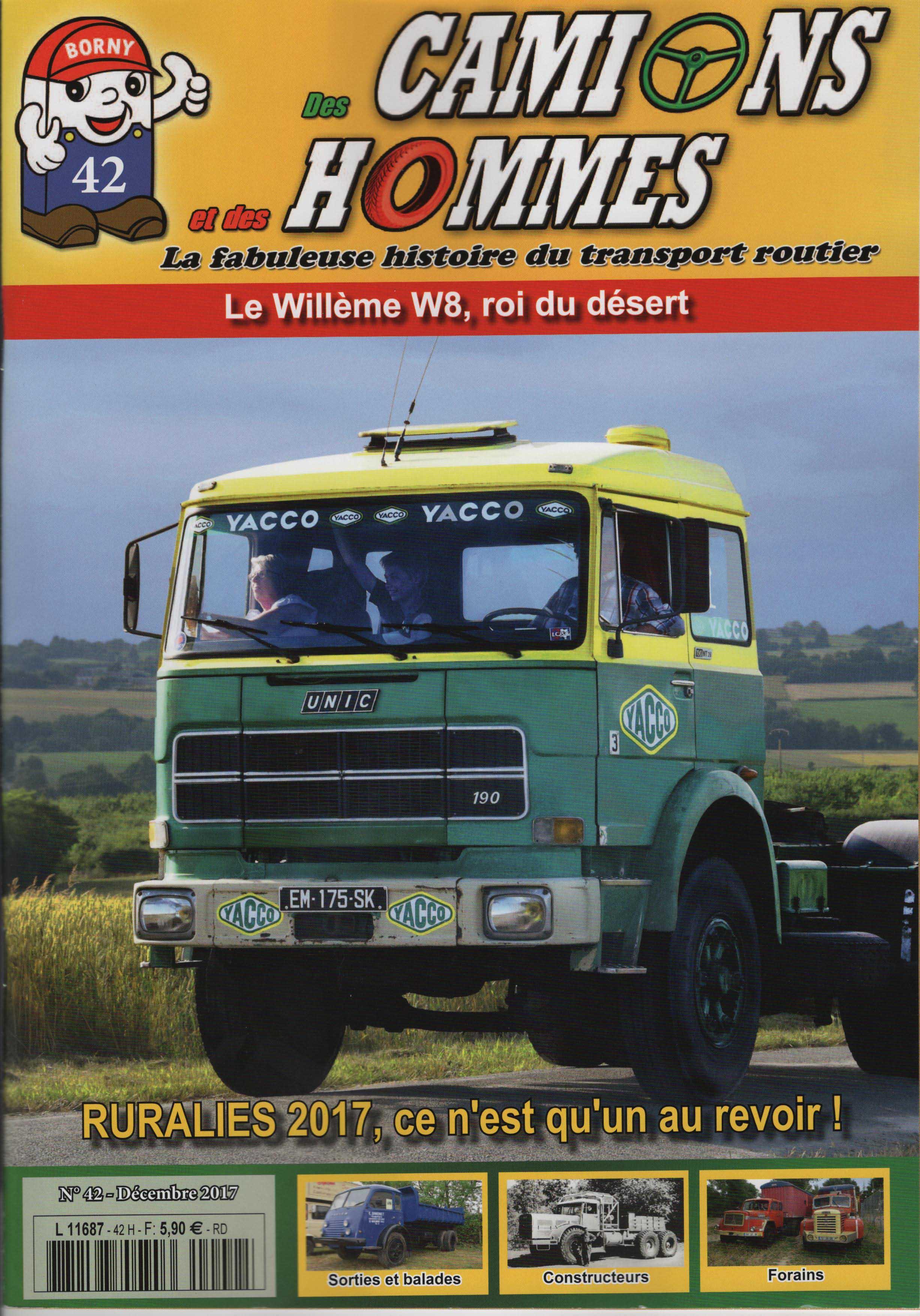 Magazine N°42 Des Camions et des Hommes (Etranger)
