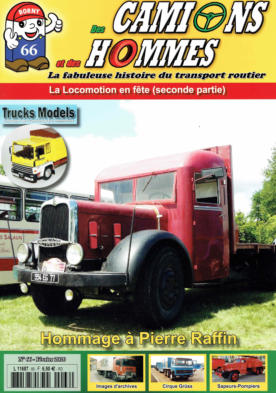 Magazine N°66 Des Camions et des Hommes (Etranger)