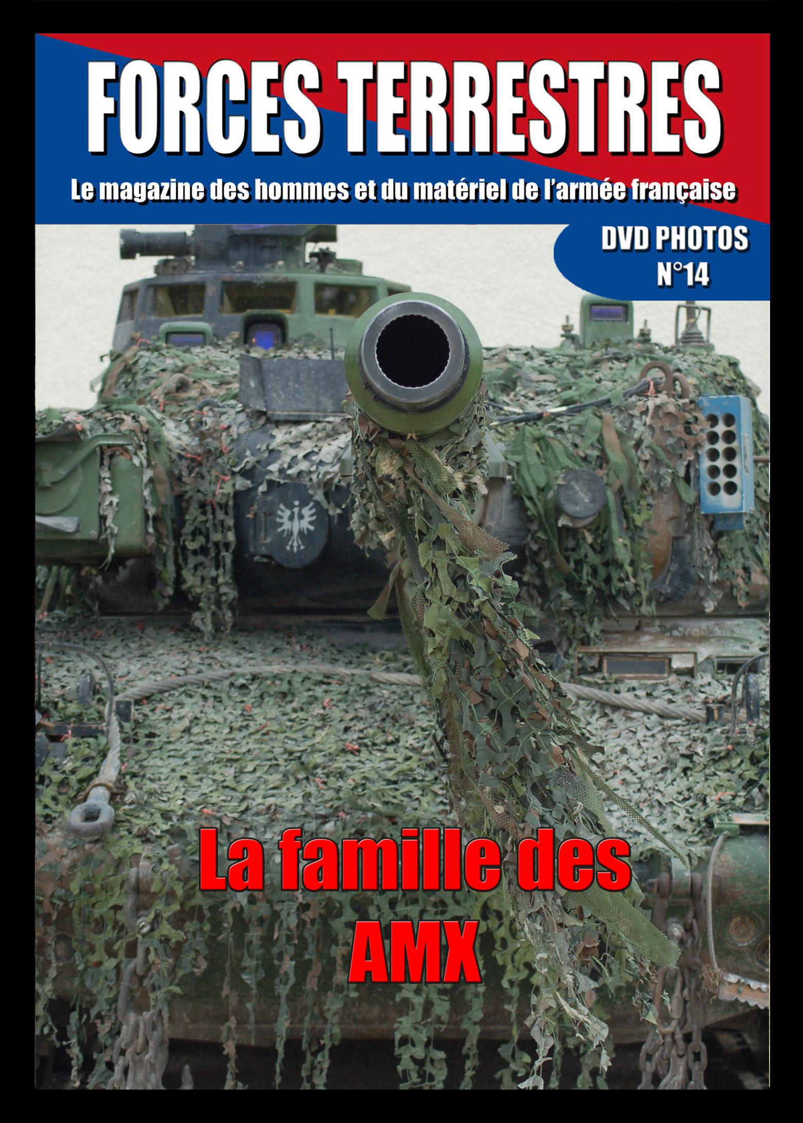 DVD  N°14 La Famille des AMX