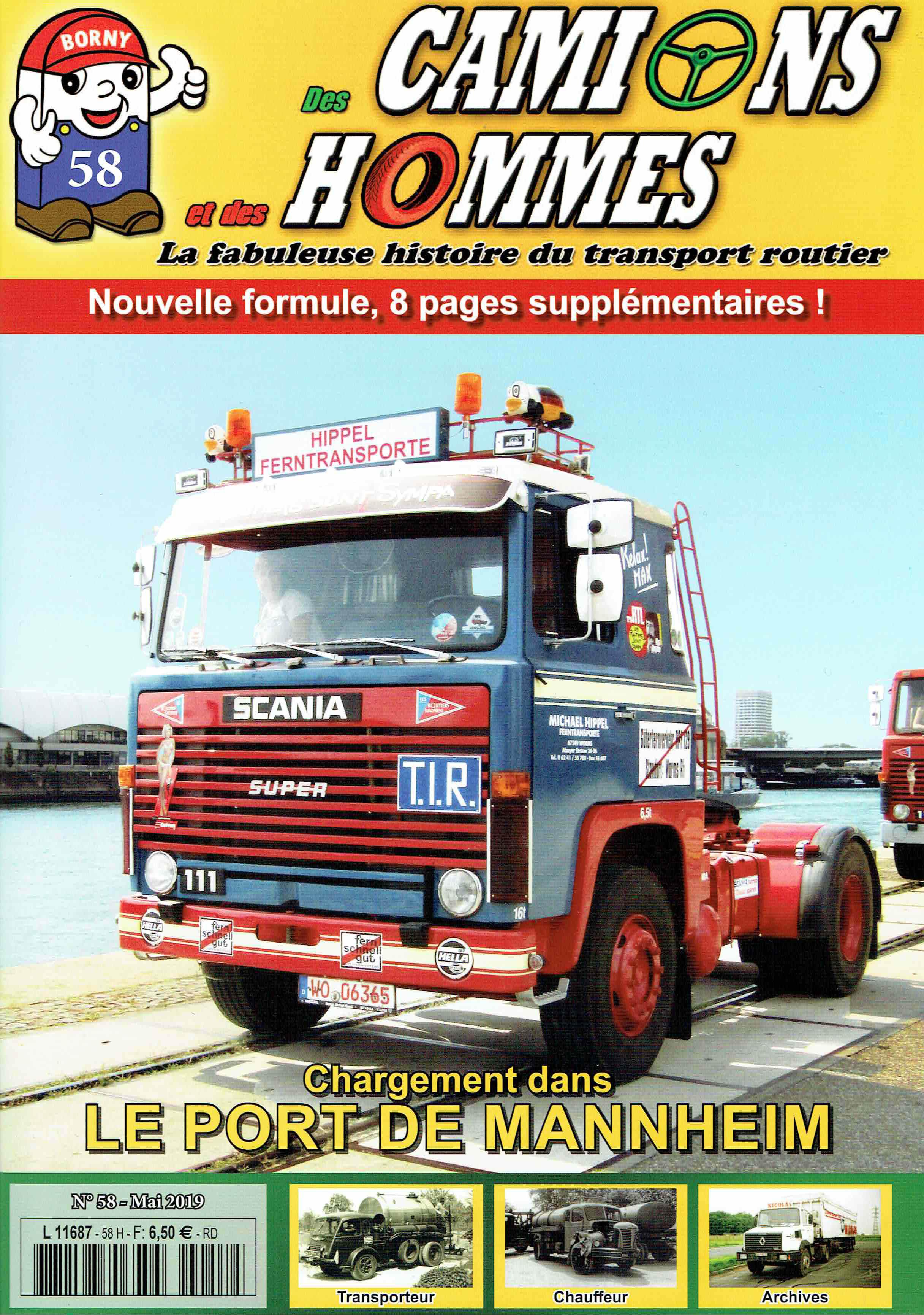 Magazine N°58 Des Camions et des Hommes (Etranger)