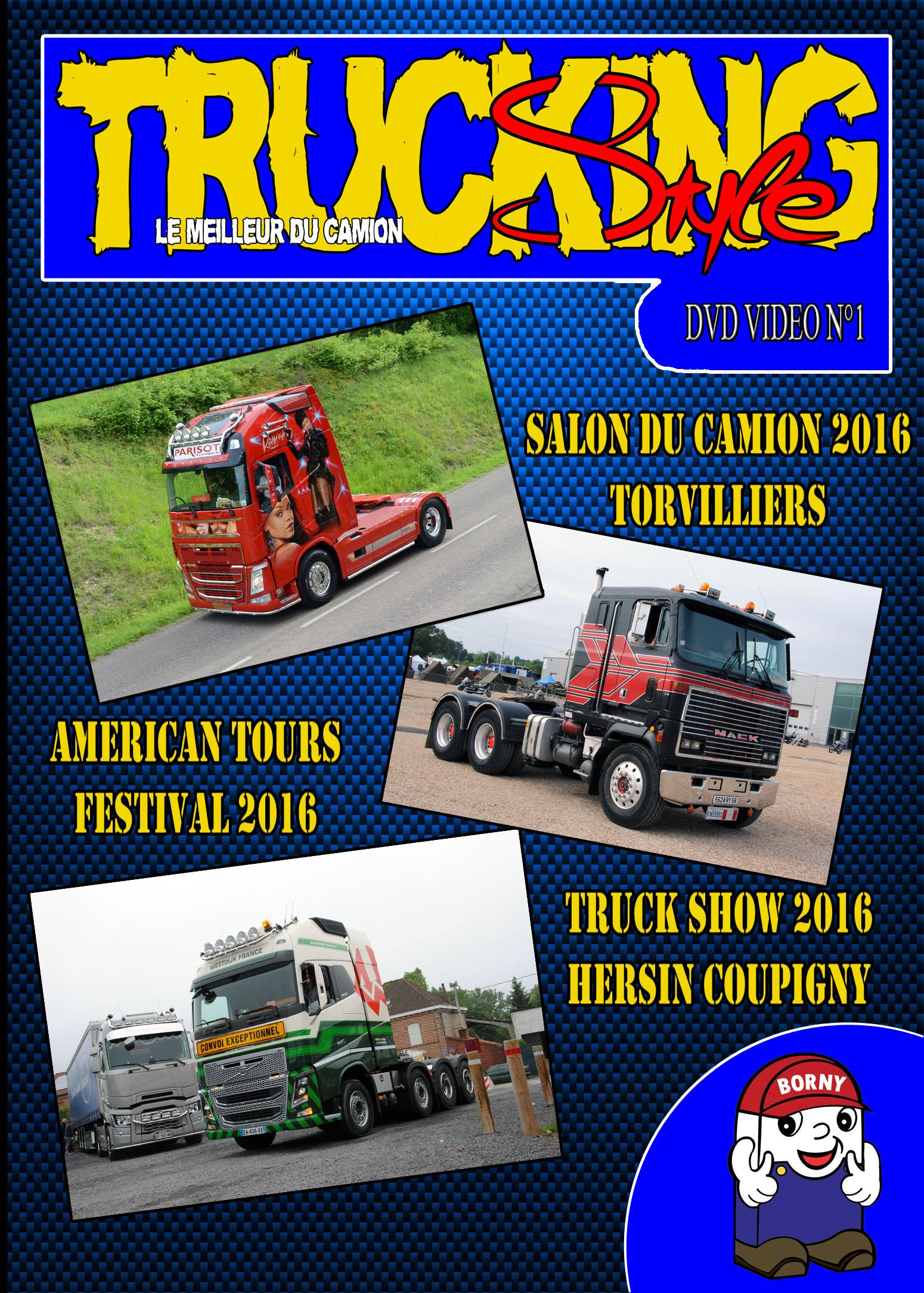 DVD Vidéo Trucking Style N°1