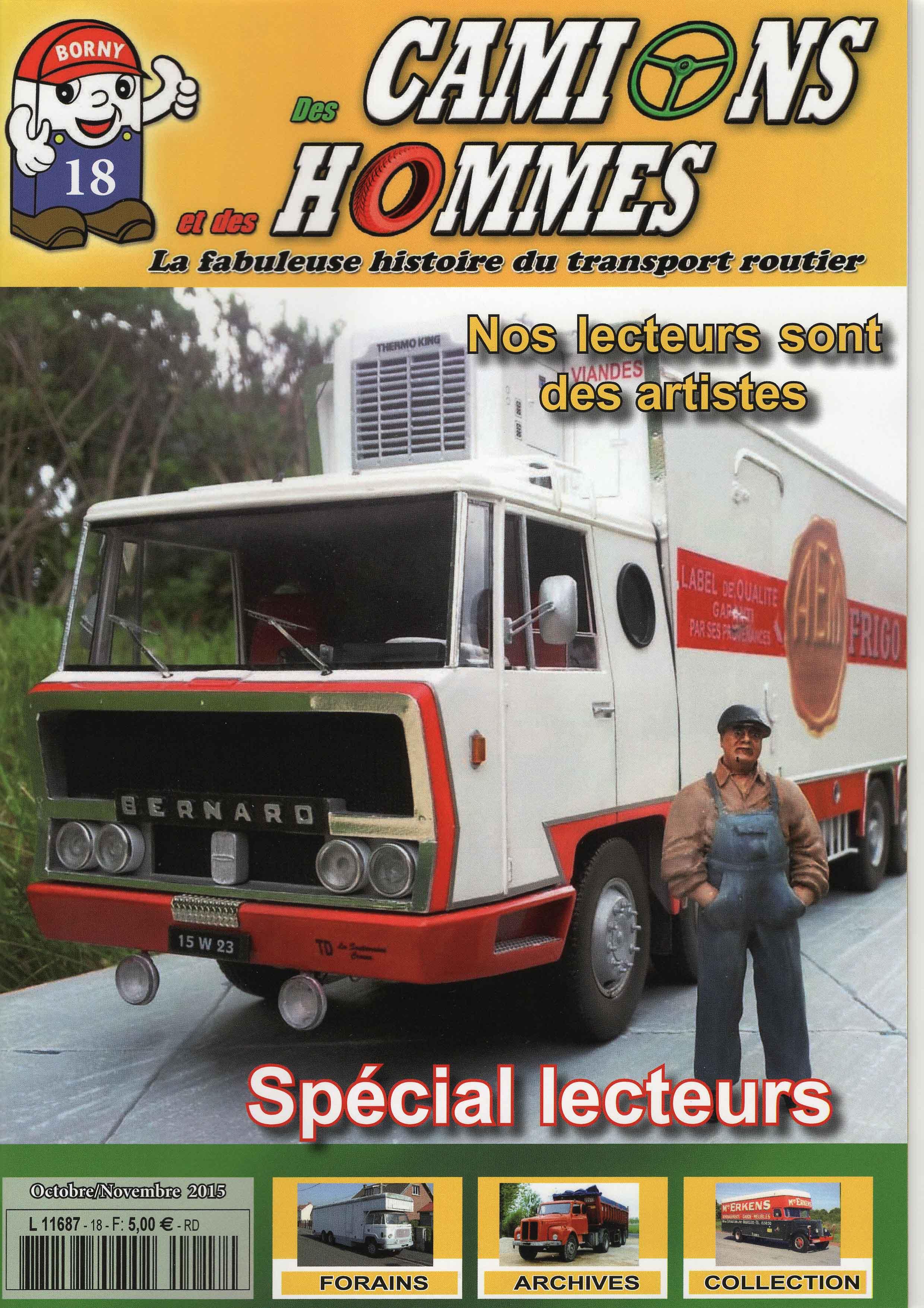 Magazine N°18 Des Camions et des Hommes (Etranger)