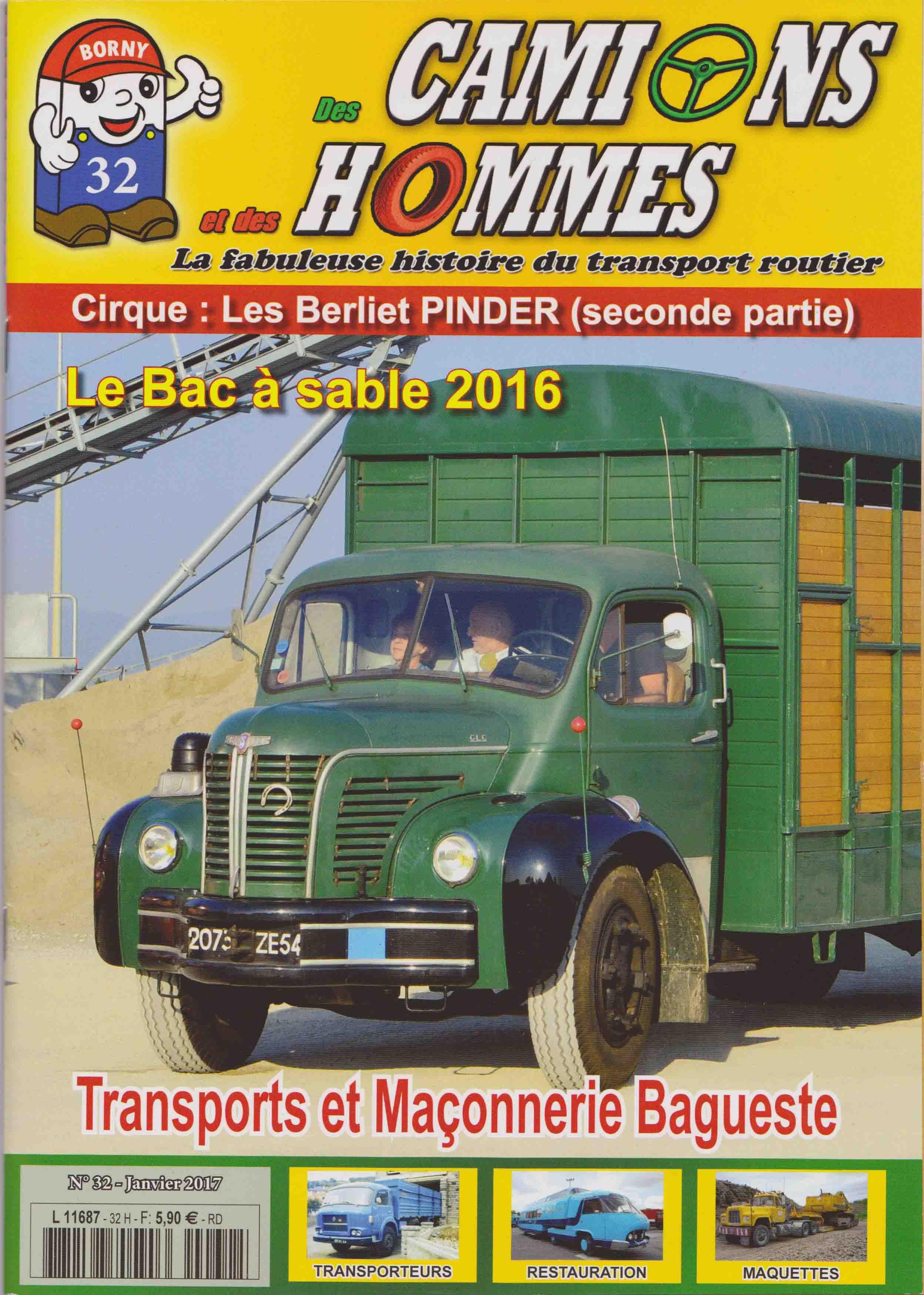 Magazine N°32 Des Camions et des Hommes (Etranger)