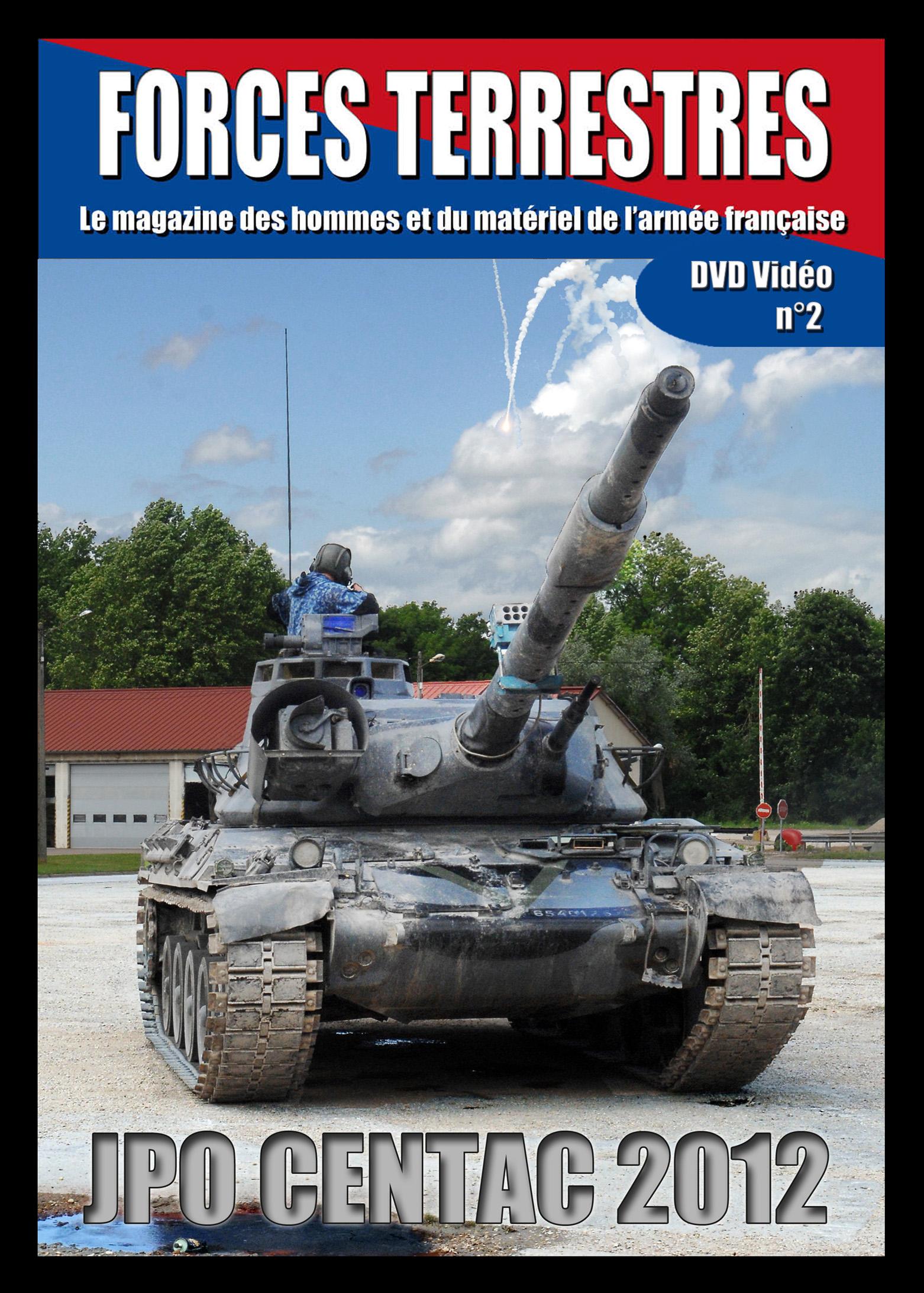 DVD Vidéos N°2 Journées Portes Ouvertes CENTAC Mailly 2012