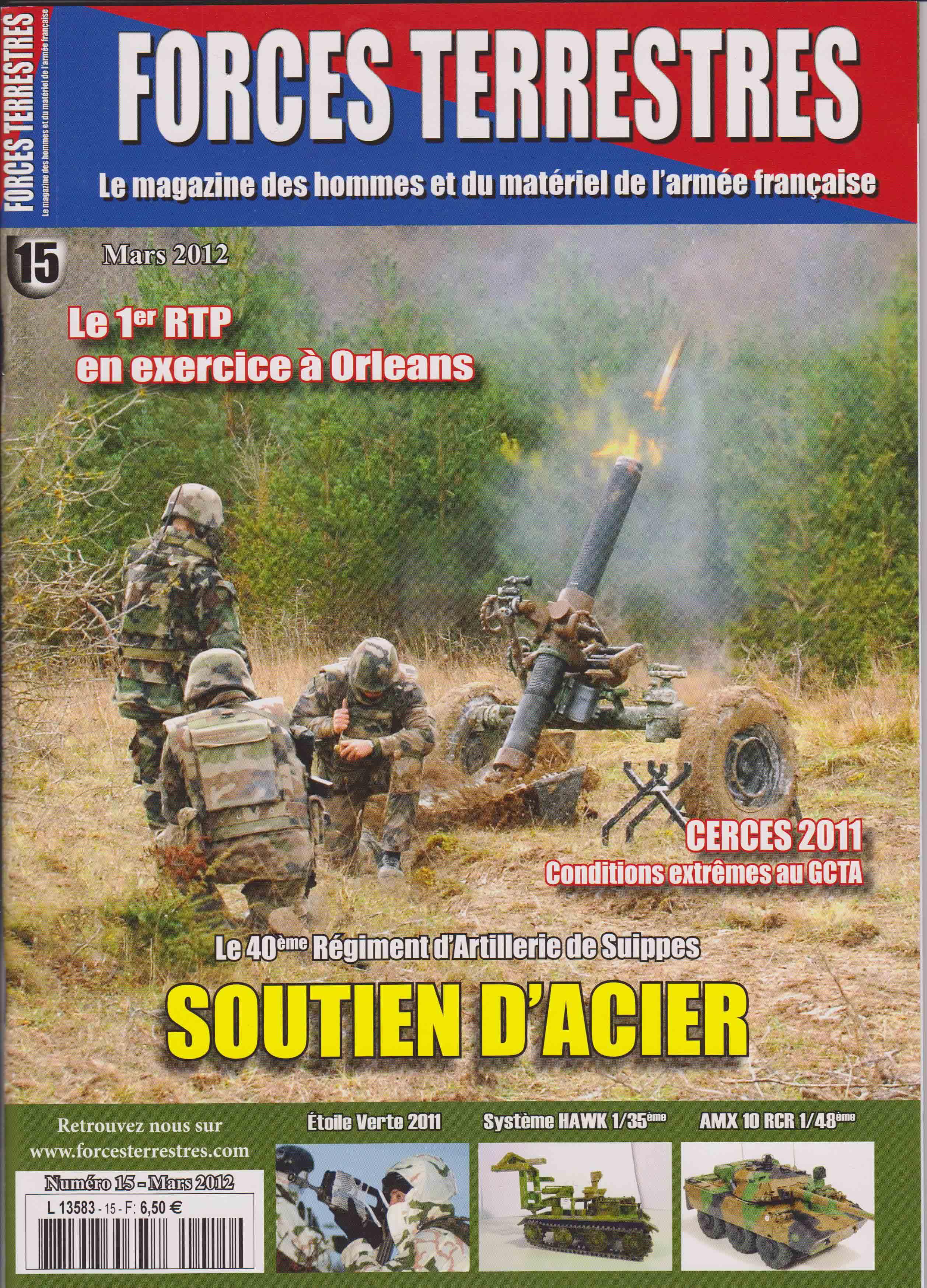 Forces Terrestres N°15 (Etranger)