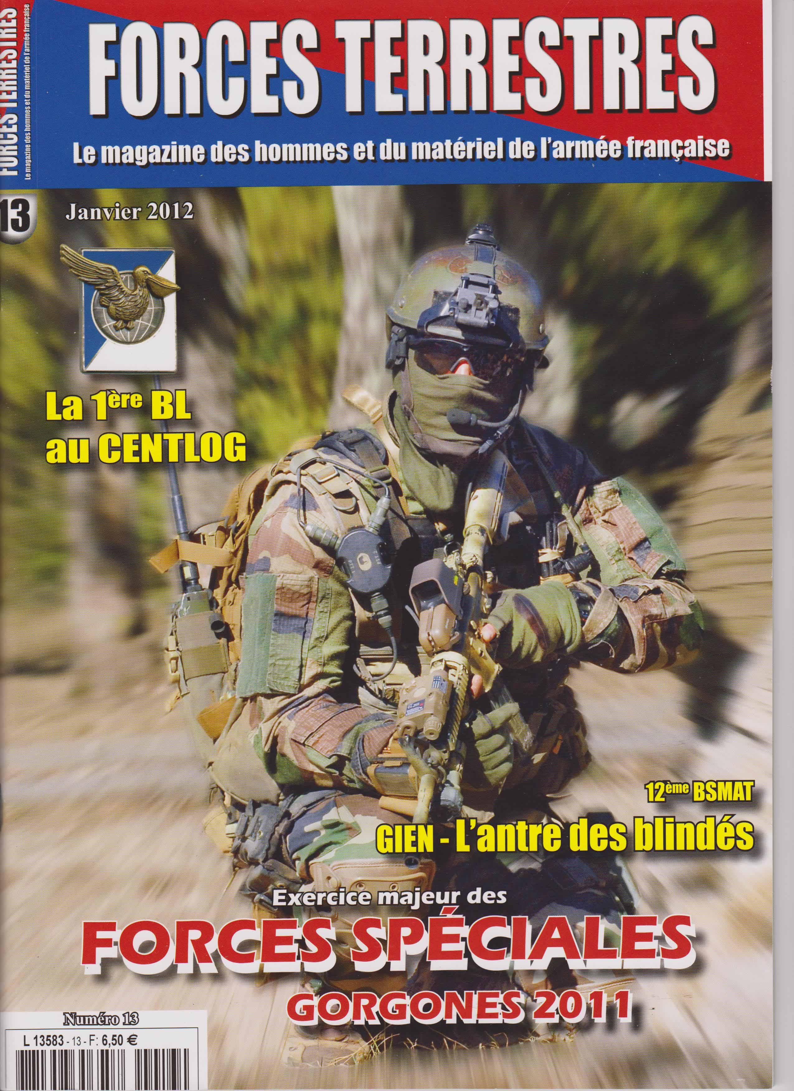 Forces Terrestres N°13 (Etranger)