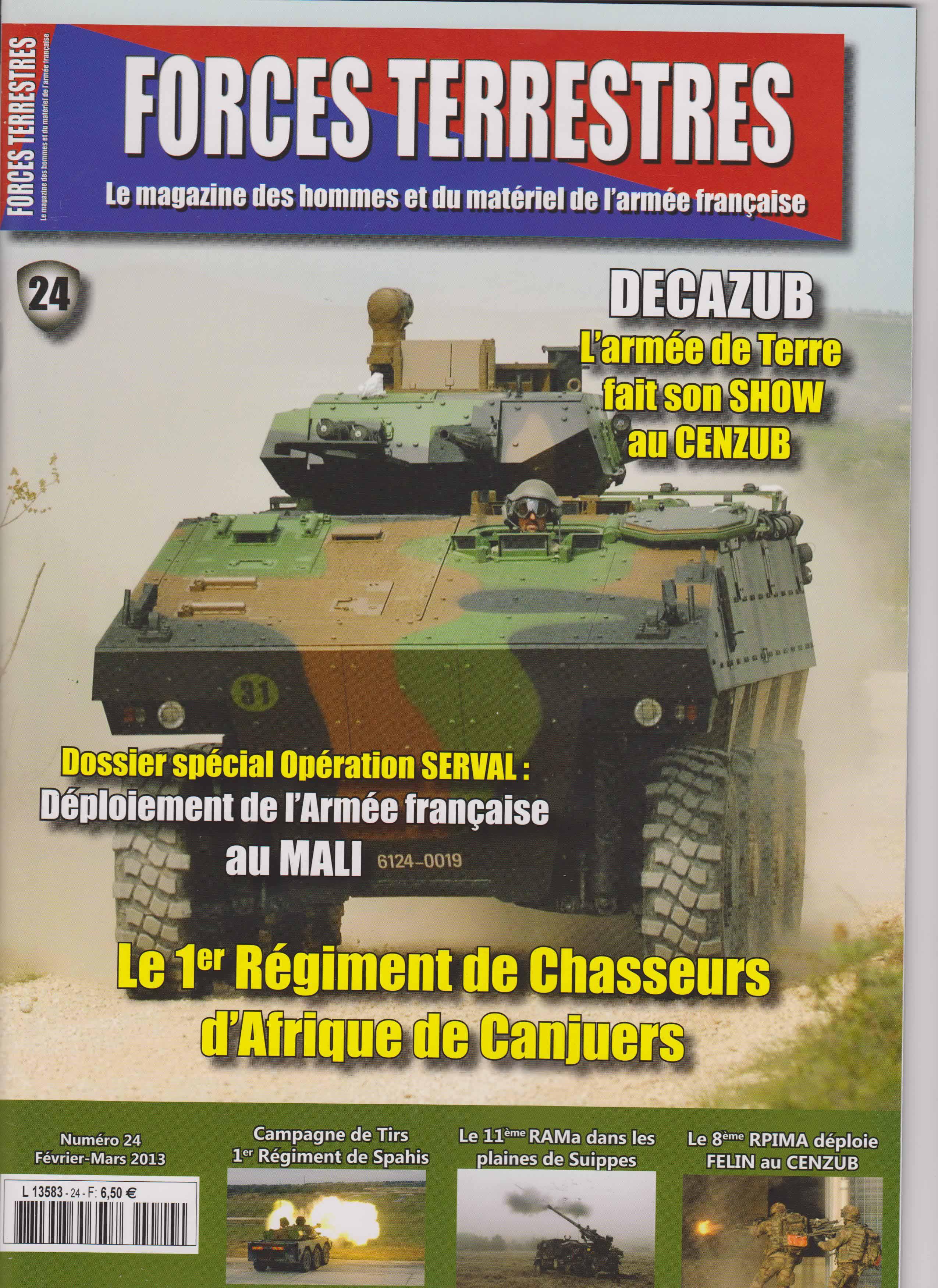 Forces Terrestres N°24 (Etranger)