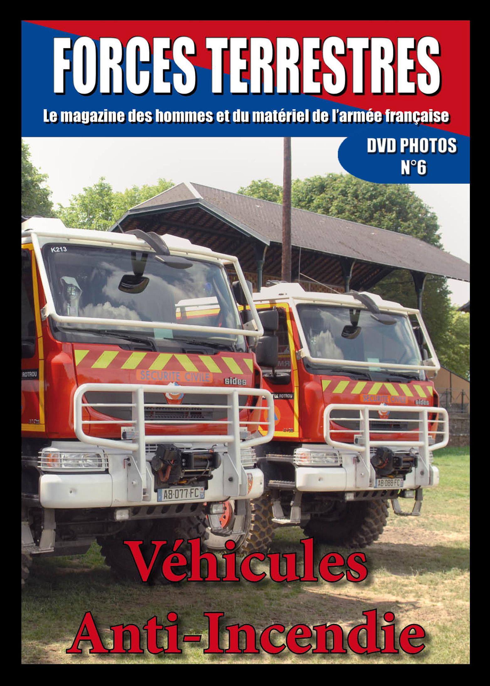 DVD  N°6 Sapeurs Pompiers militaires