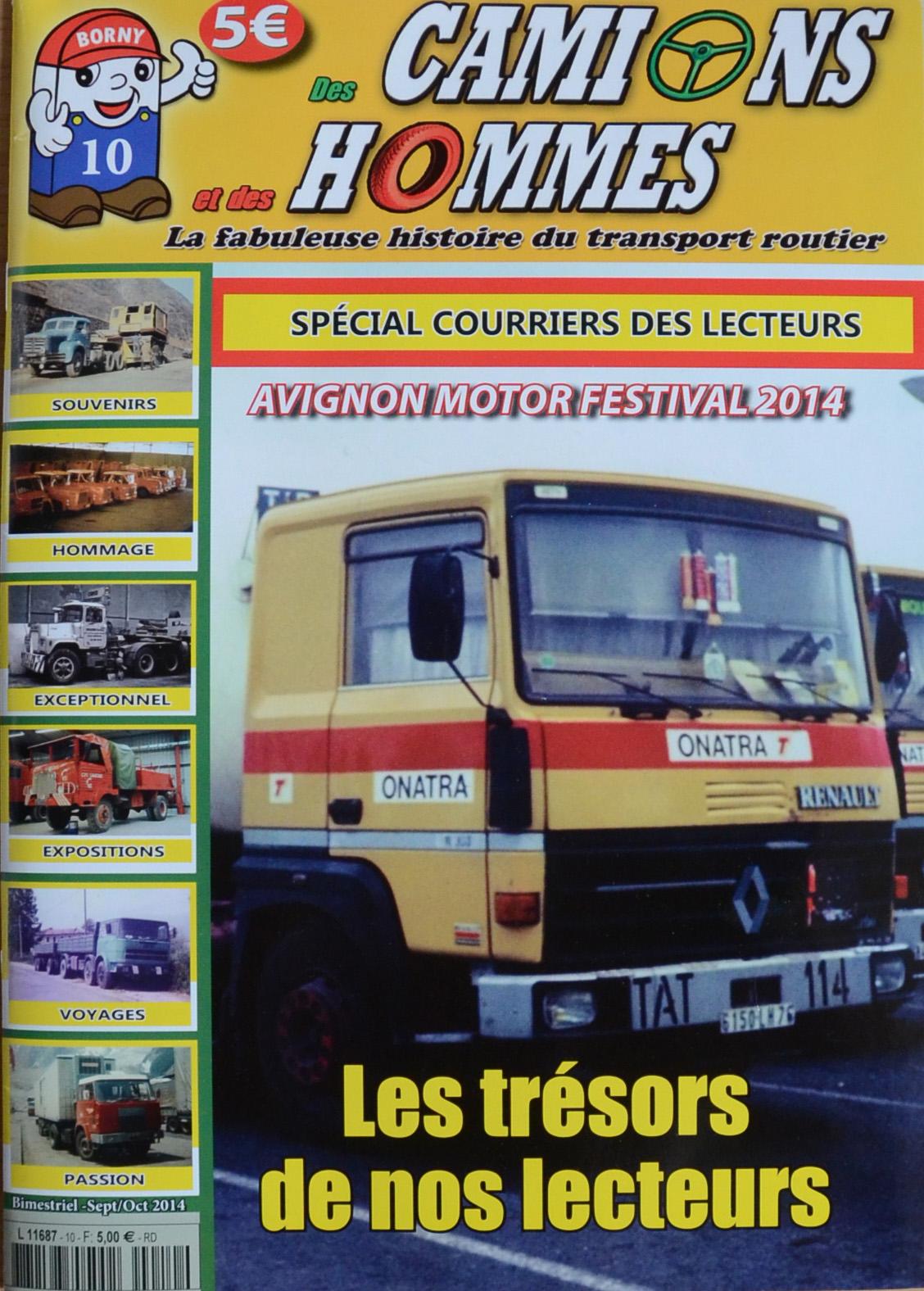 Magazine N°10 Des Camions et des Hommes (Etranger)