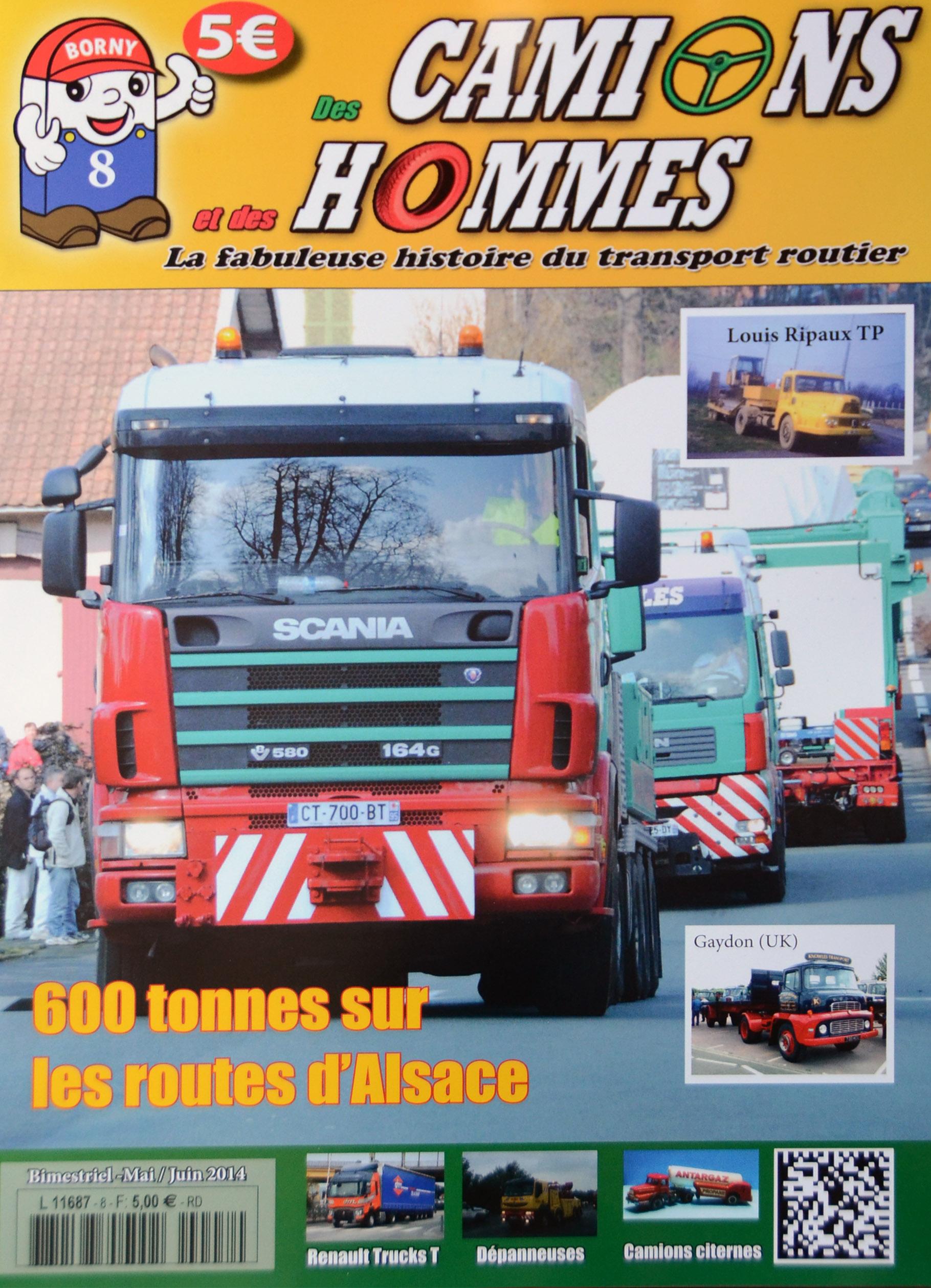 Magazine N°8 Des Camions et des Hommes (Etranger)
