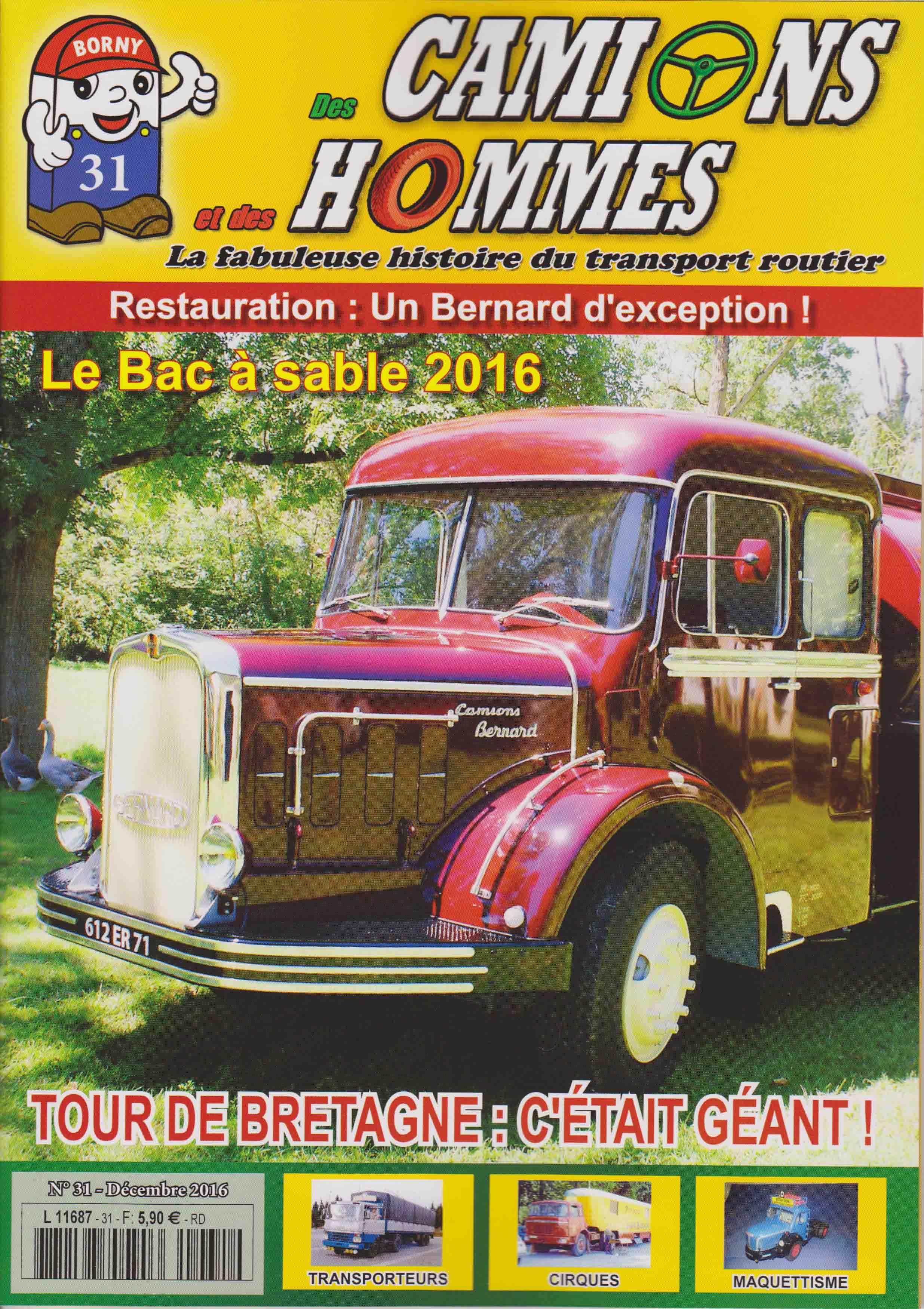 Magazine N°31 Des Camions et des Hommes (Etranger)