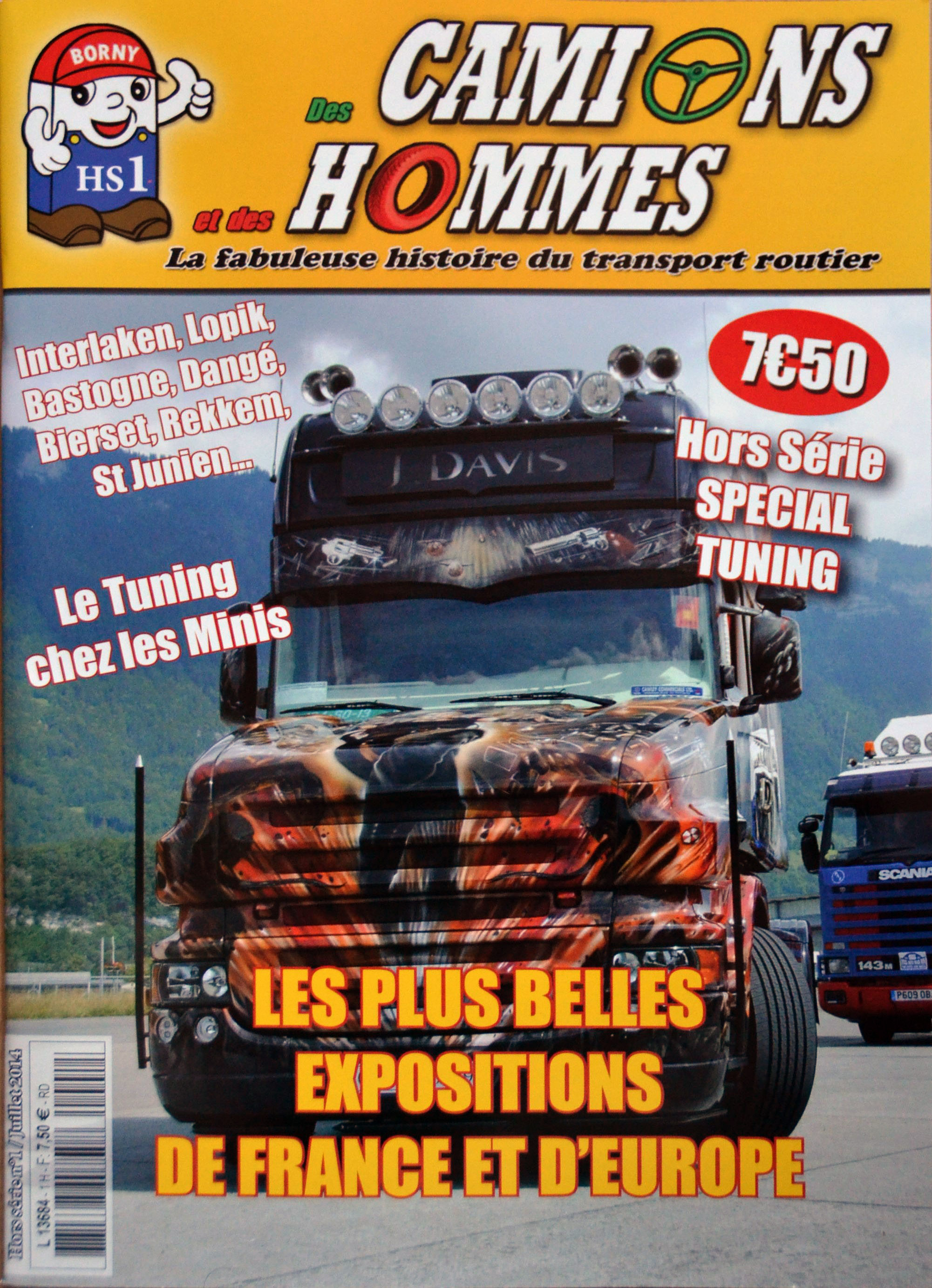 Magazine N°1 HS Des Camions et des Hommes (Etranger)