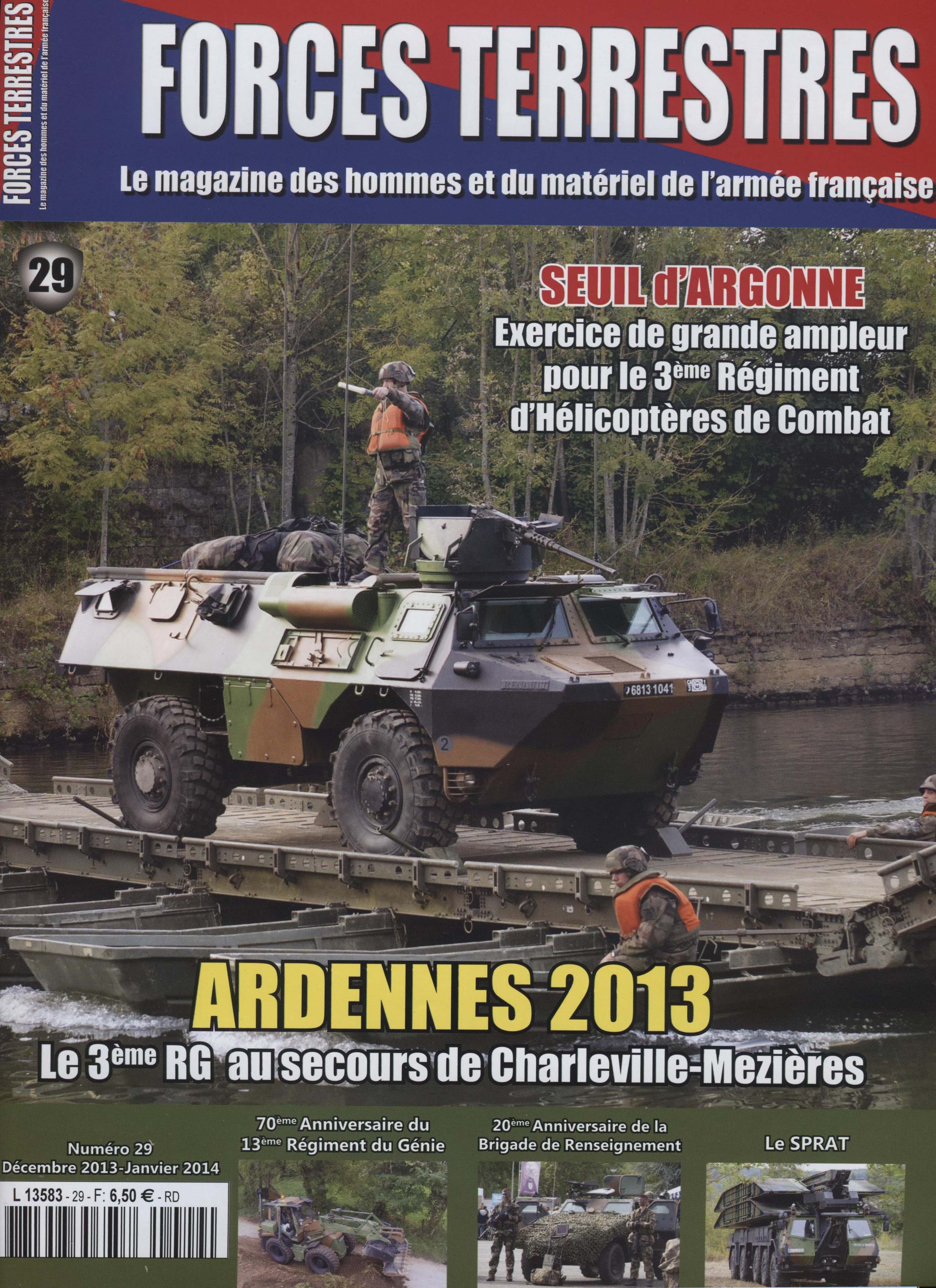 Forces Terrestres N°29 (Etranger)