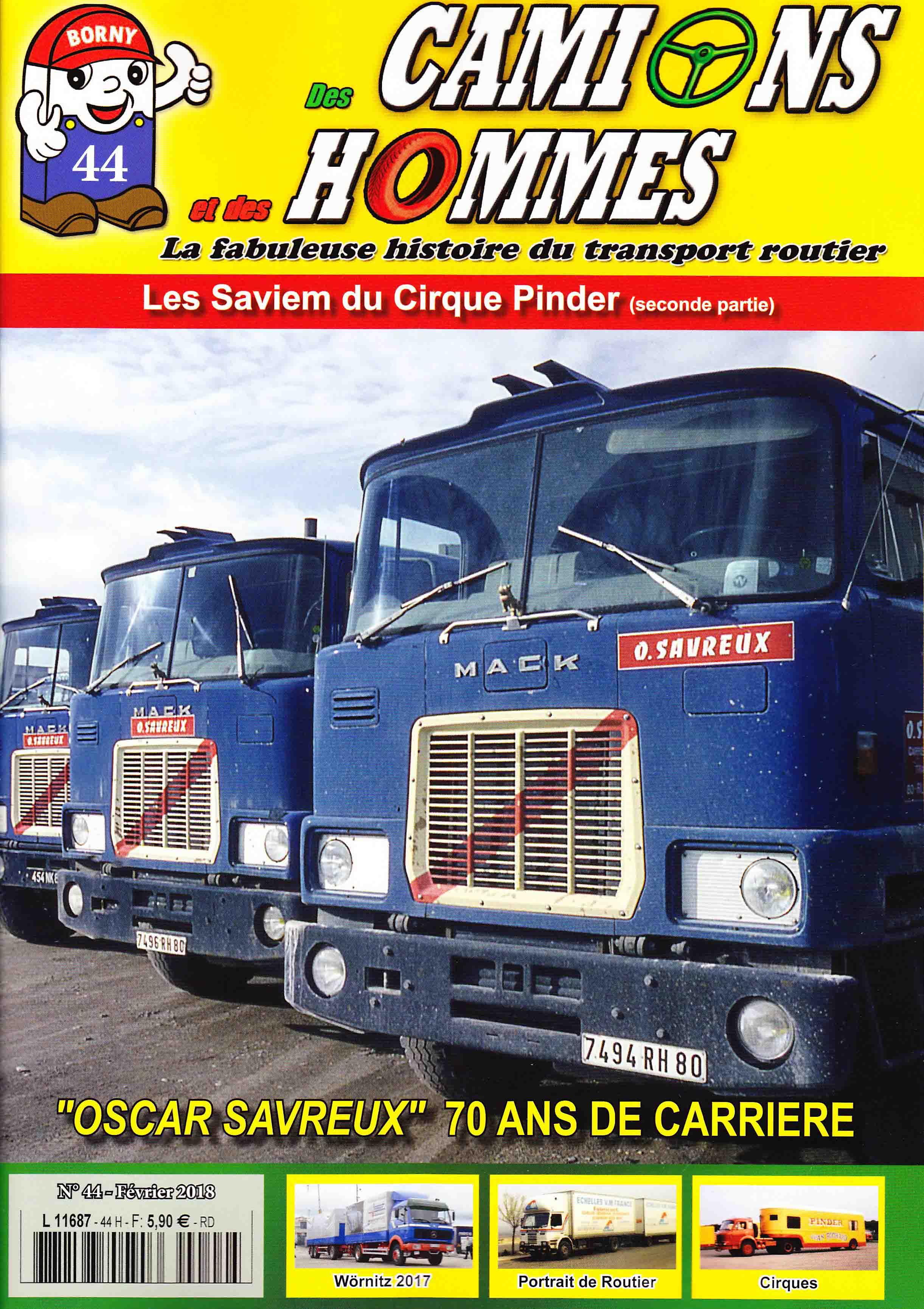 Magazine N°44 Des Camions et des Hommes (Etranger)