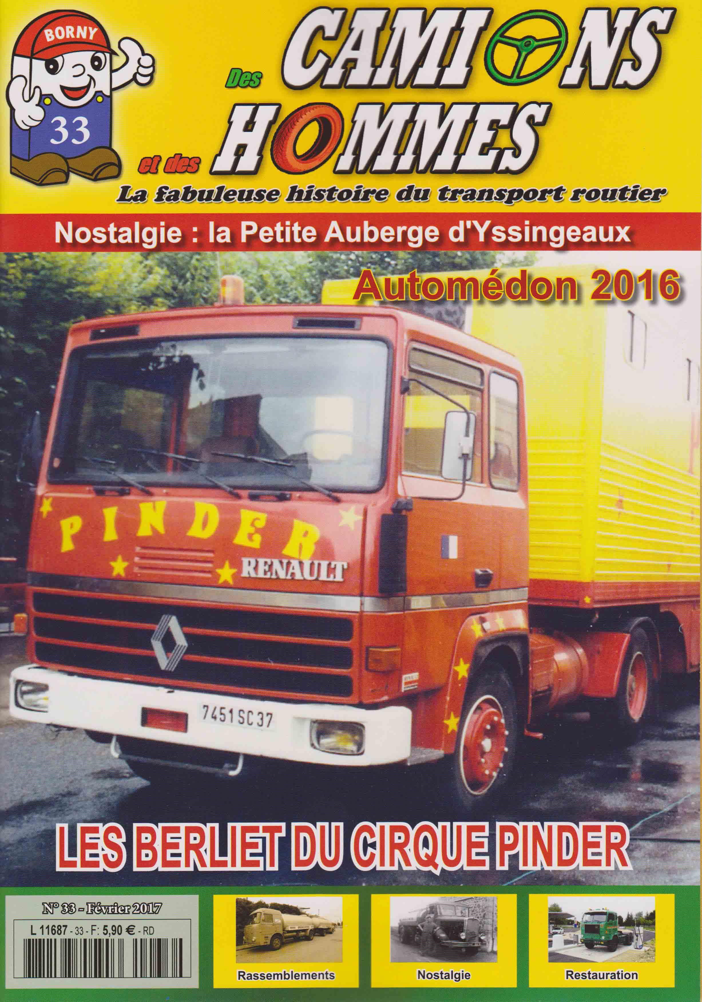 Magazine N°33 Des Camions et des Hommes (Etranger)