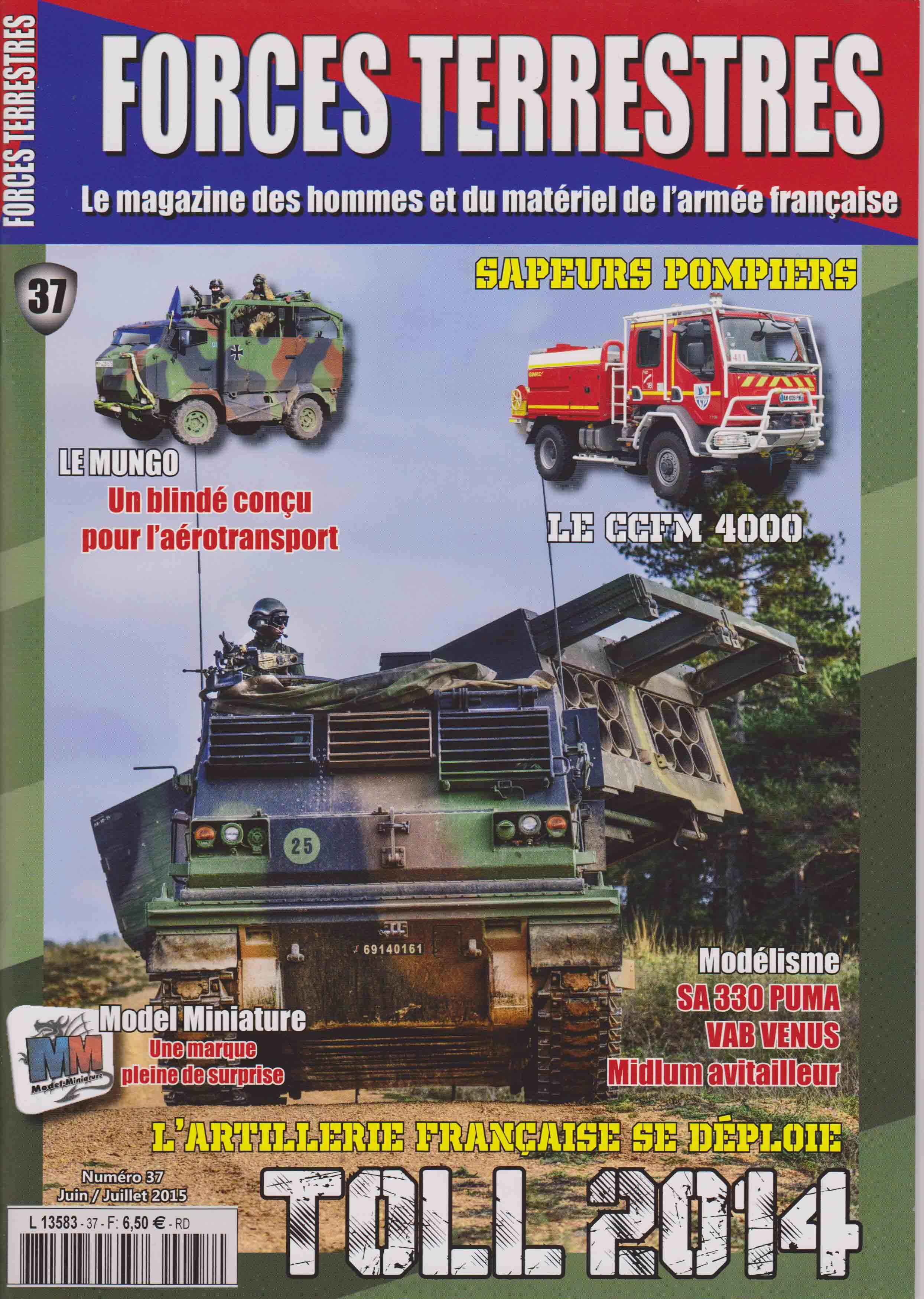 Forces Terrestres N°37 (Etranger)