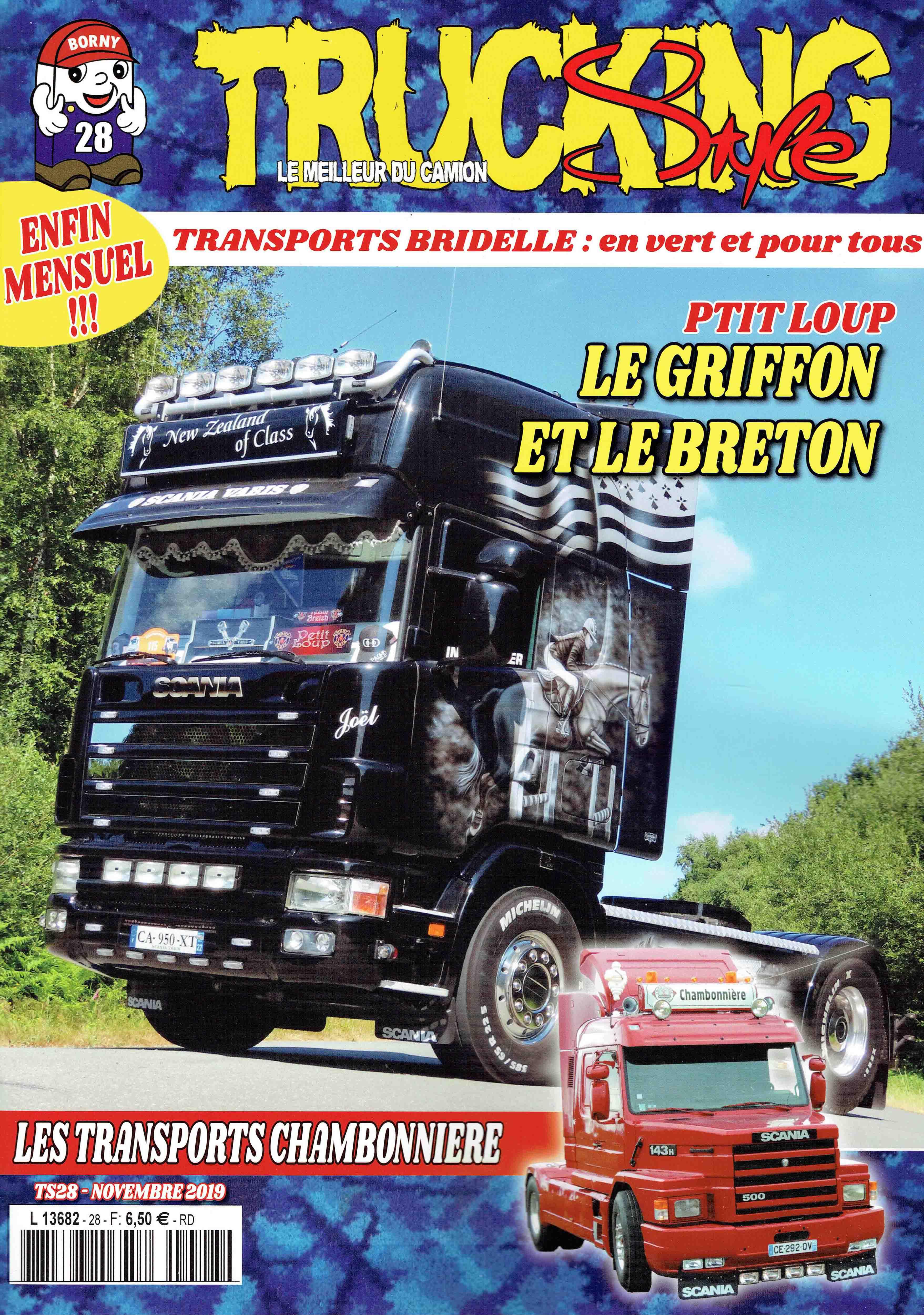 Numéro 28 de Trucking Style