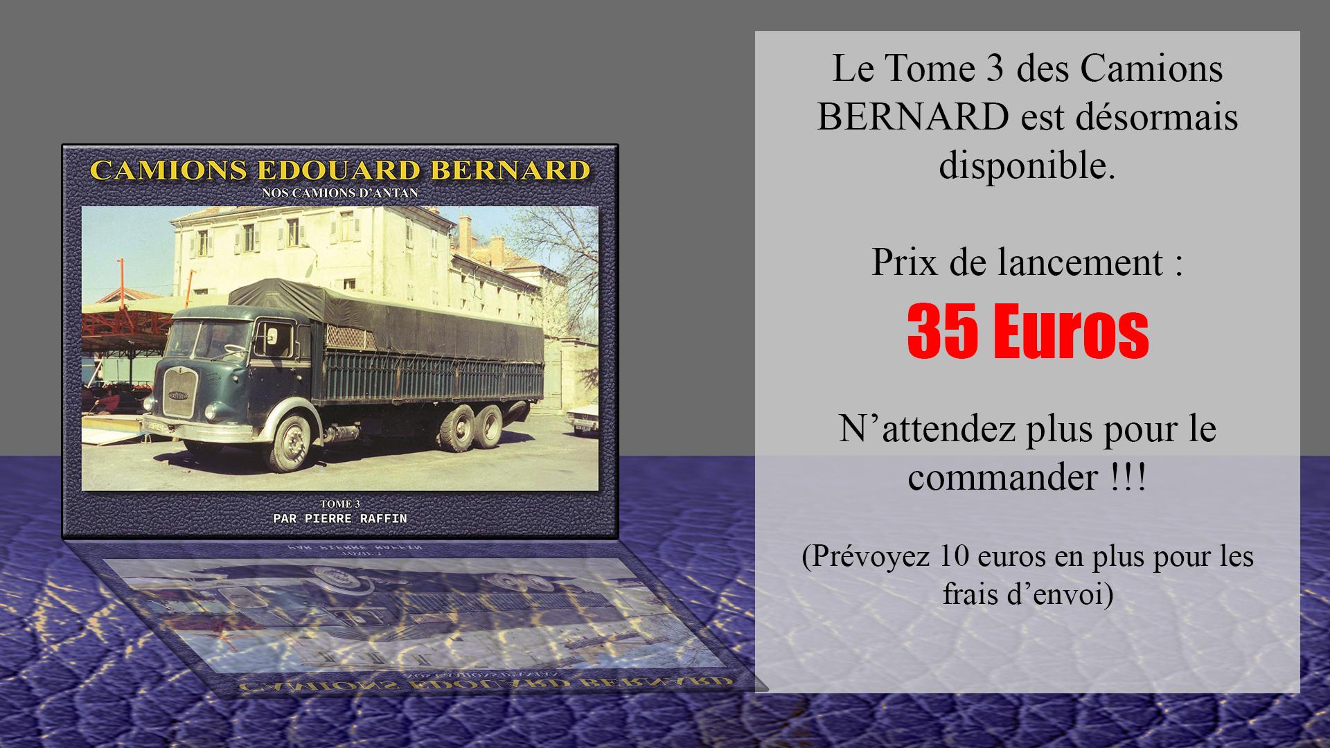 Offre de Lancement - Bernard Tome 3