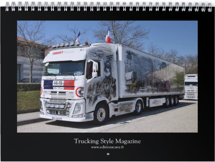 "Calendrier 2020 ""Trucking Style"""