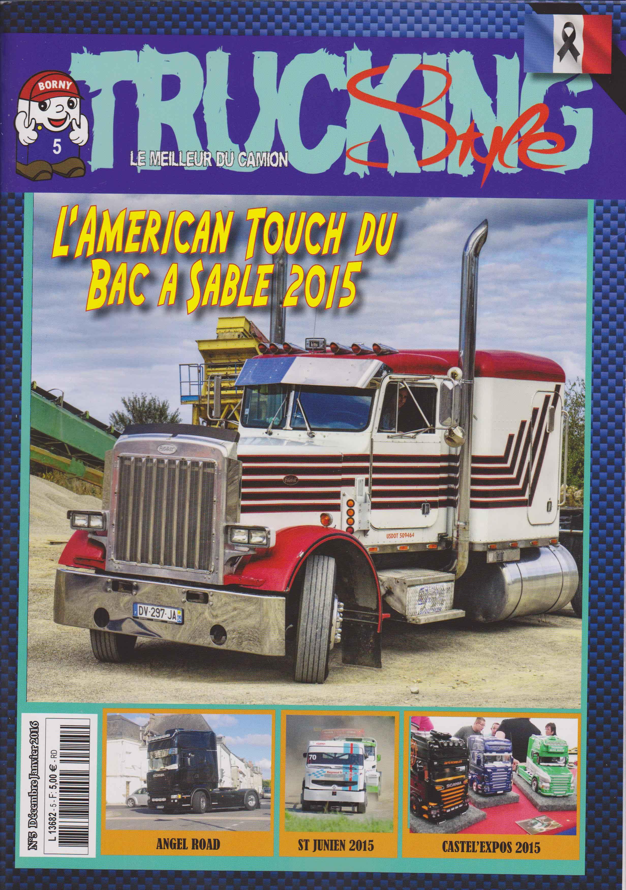 Numéro 5 de Trucking Style - Décembre - Janvier 2016