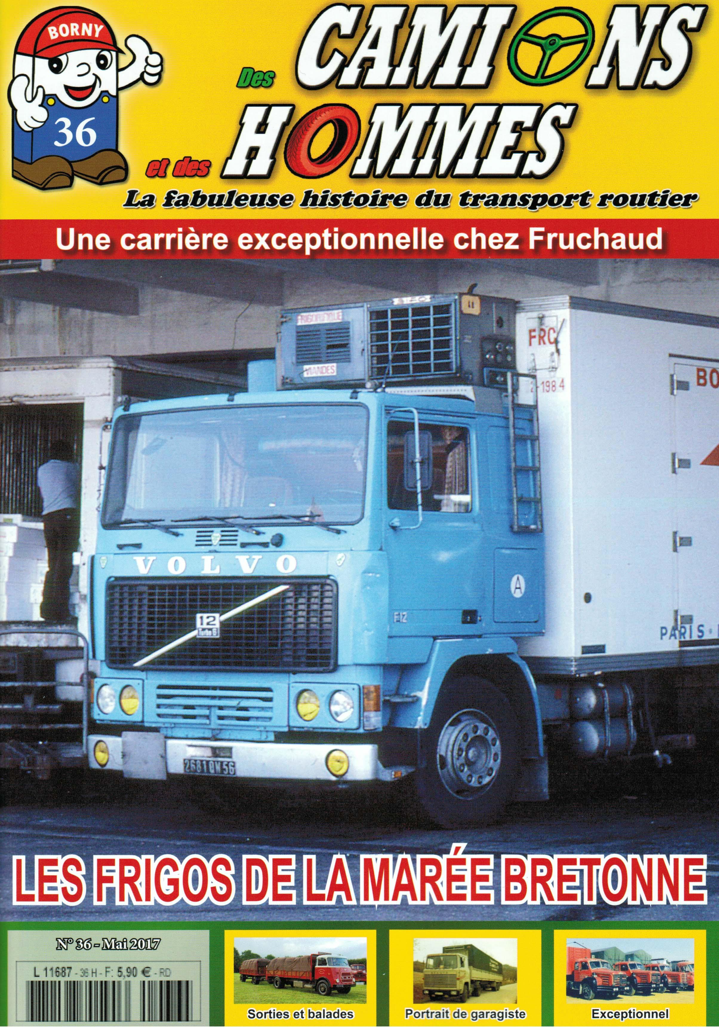Magazine N°36 Des Camions et des Hommes (Etranger)
