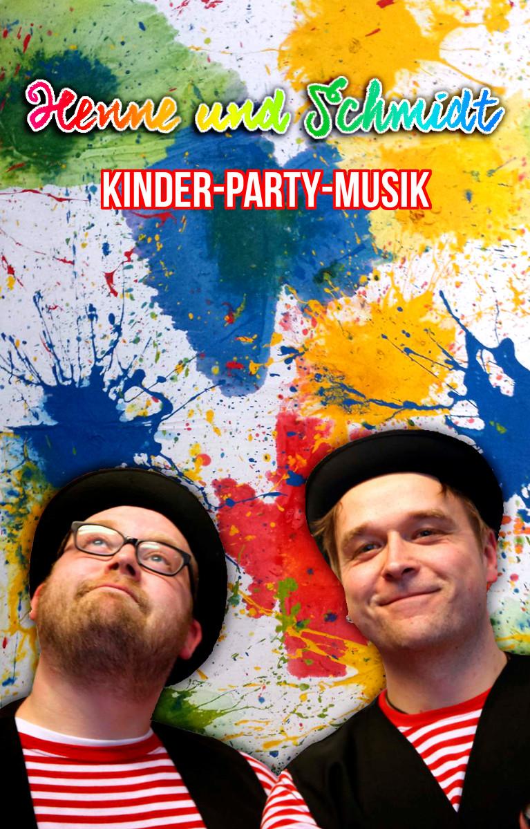 KINDER-PARTY-MUSIK - Henne und Schmidt (MC)