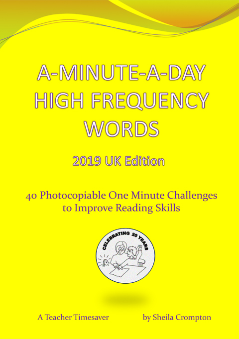 A Minute A Day - High Frequency Words UK