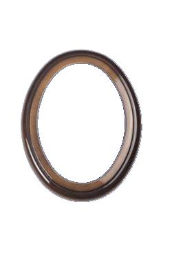 Cornice ovale 11x15 OLMO marrone