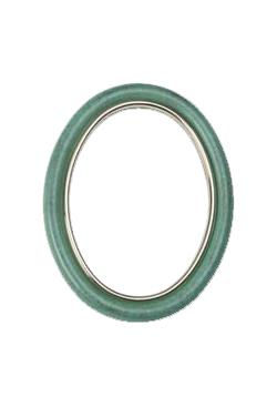 Cornice ovale 8x10 OLMO verde pompeiano