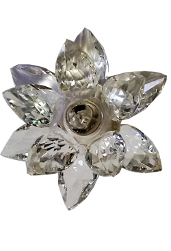 Fiore di Luce - Cristallo LED bianco
