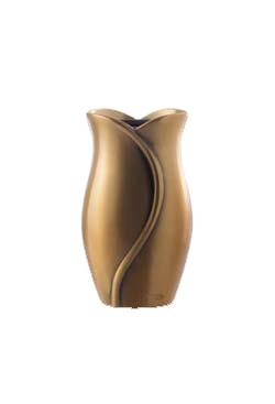 Vaso celletta FIORE LINE bronzo