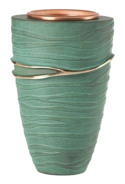 Vaso celletta OLMO verde pompeiano