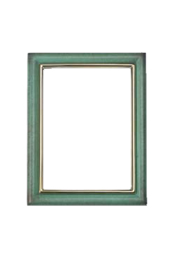 Cornice rettangolare 11x15 OLMO verde pompeiano