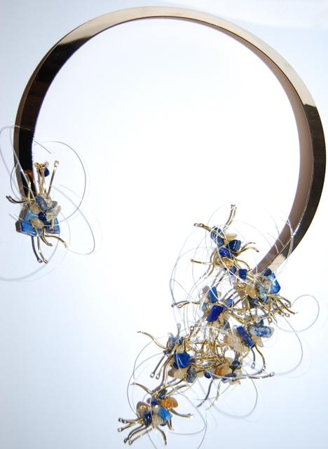Collier Arbre Asiatique Bleu