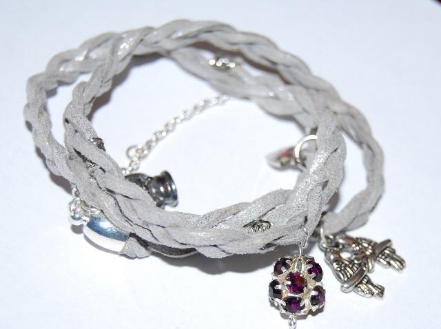 Duo Style Collier/Bracelet Gris