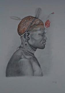 Guerrero Masai engalanado